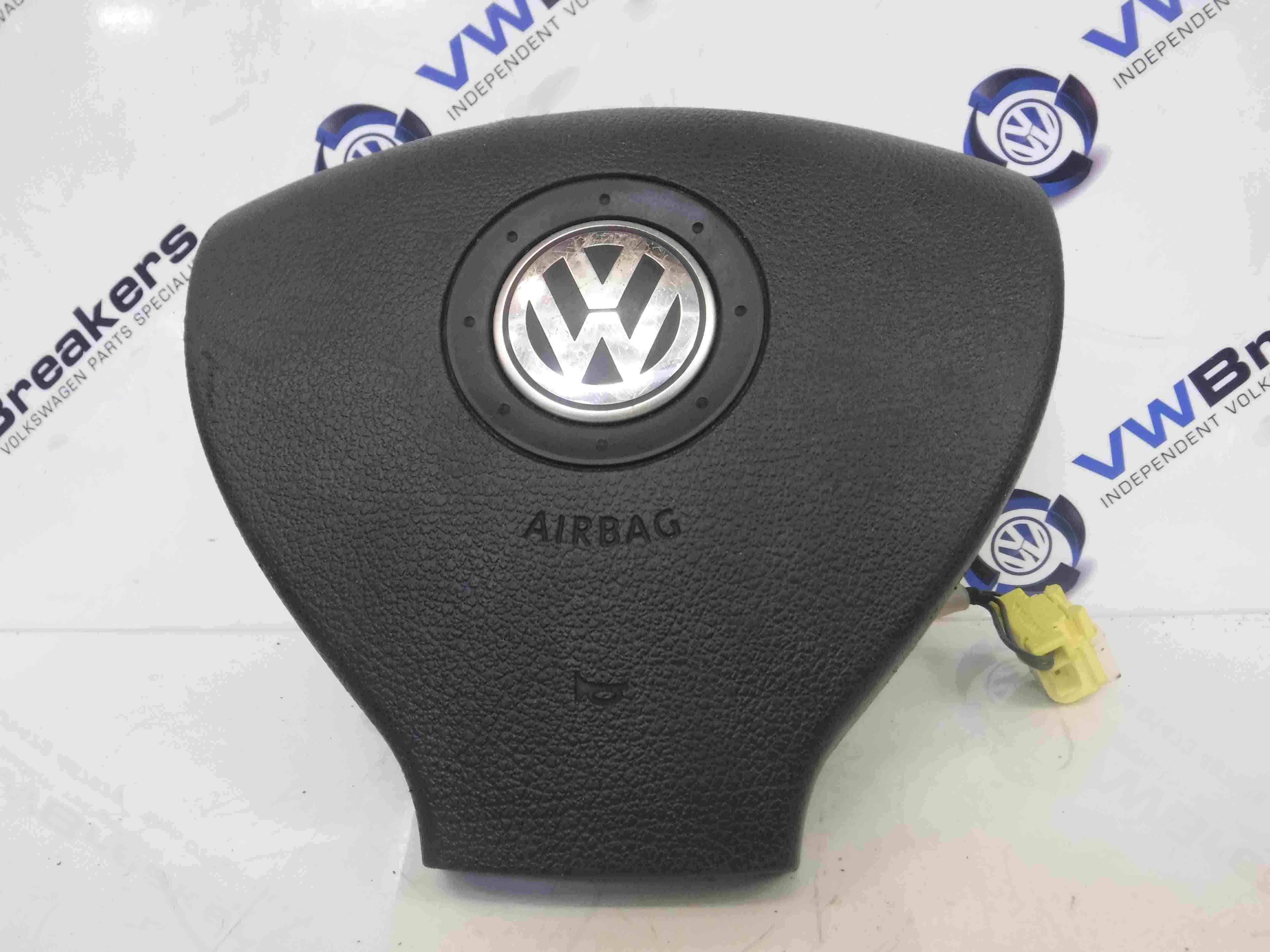 Volkswagen Golf MK5 2003-2009 Steering Wheel Airbag 1K0880201P SEE CONDITION