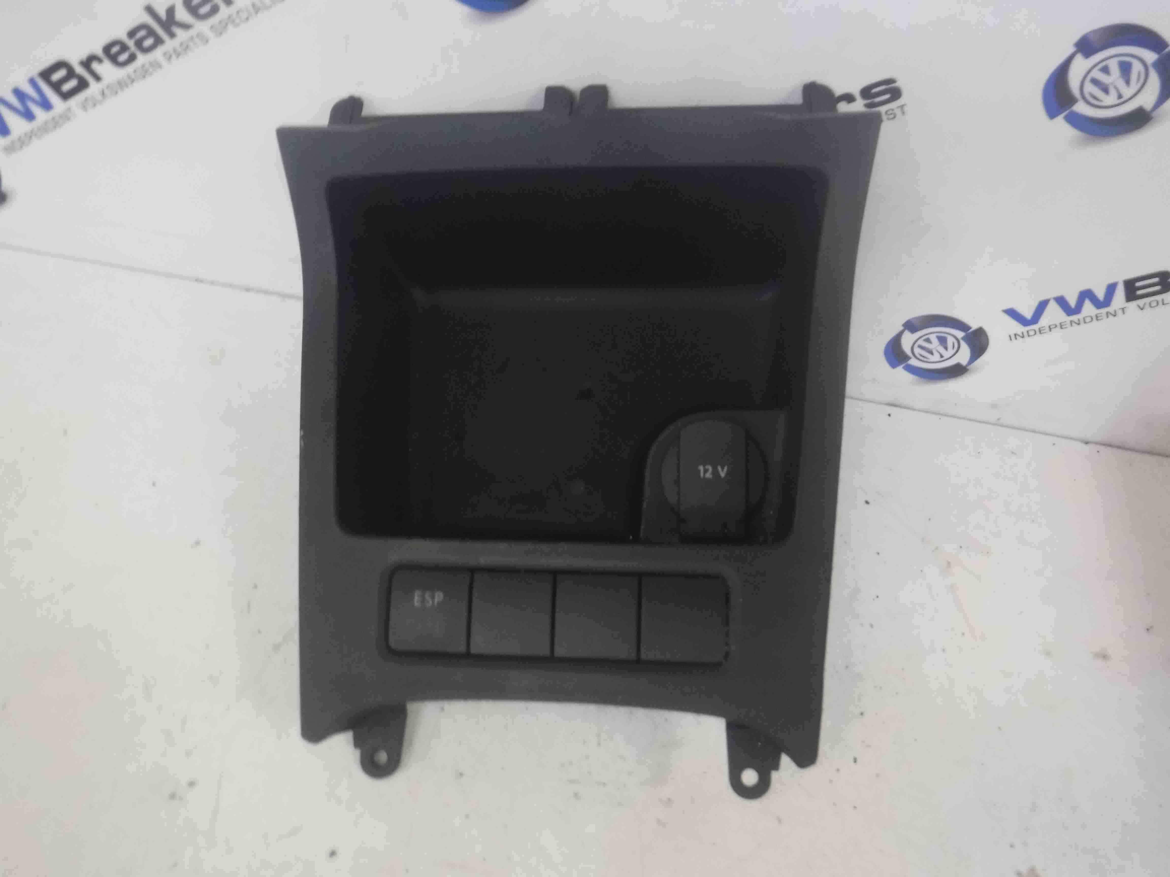 Volkswagen Golf MK5 4 Motion 2003-2009 Interior Insert Tray Cig Lighter ESP