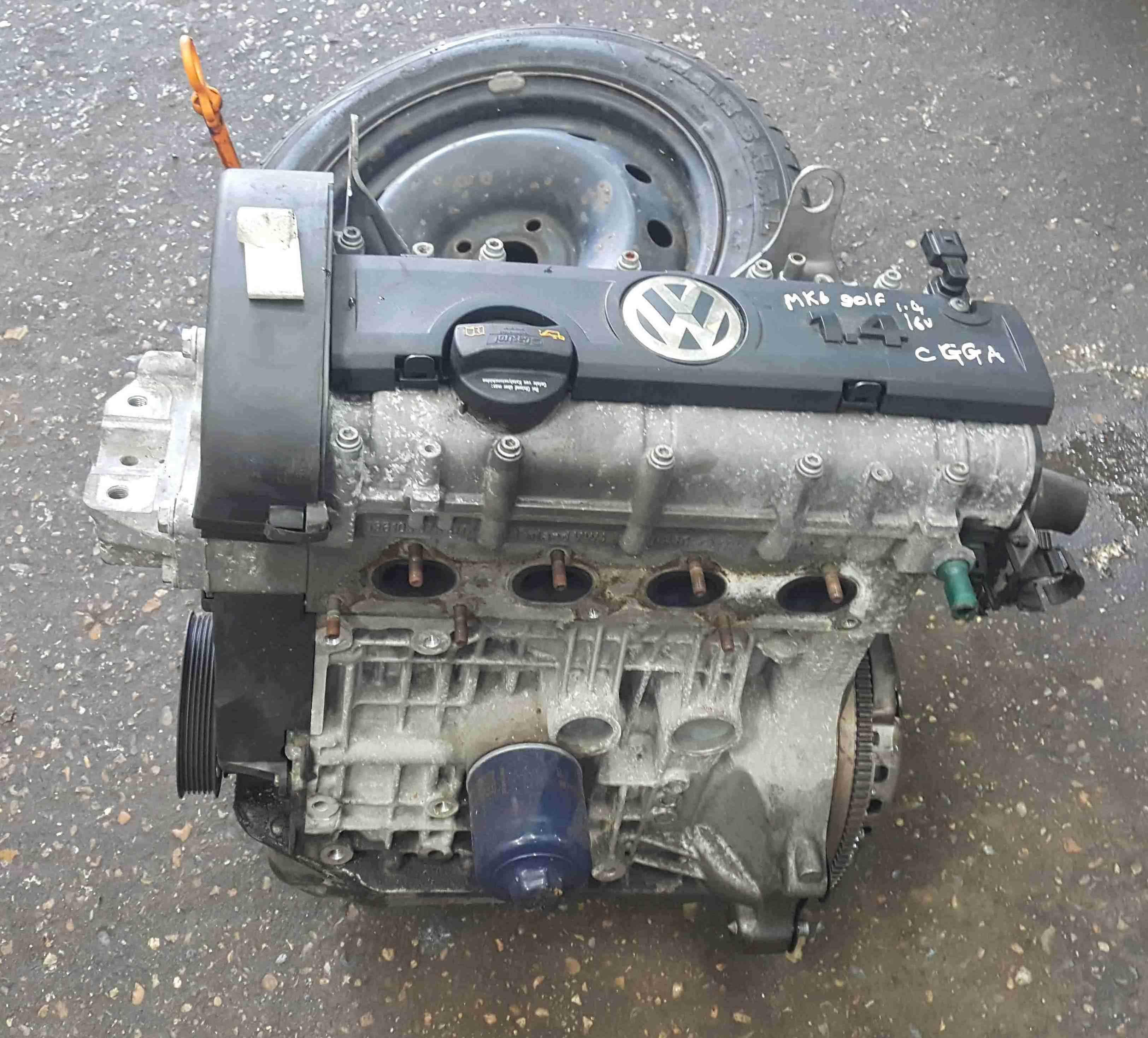 Volkswagen Golf MK6 2009-2012 1.4 16v Engine 3 Months Warranty CGGA