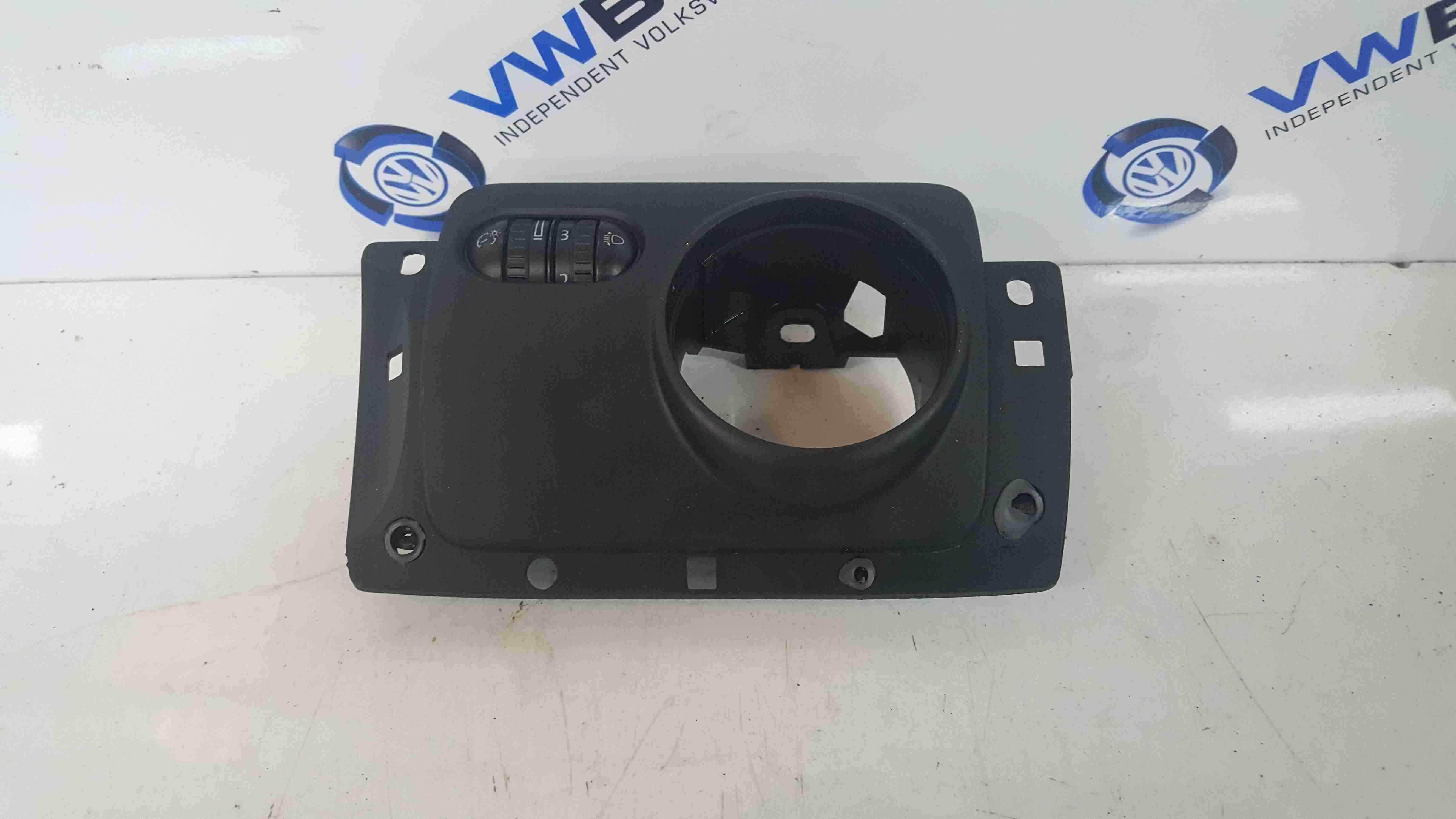 Volkswagen Golf MK6 2009-2012 Headlight Dimmer Dashboard Trim Panel 1K2858341