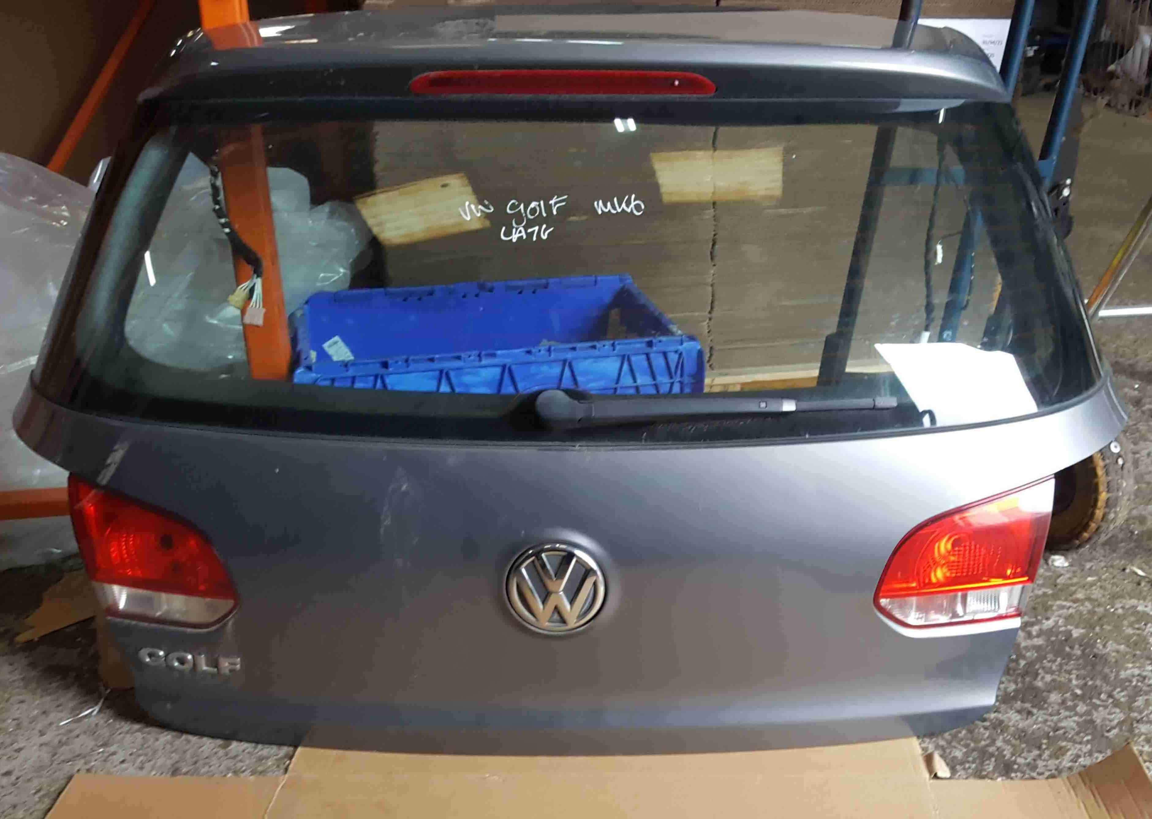 Volkswagen Golf MK6 2009-2012 Rear Boot Tailgate Grey LA7T