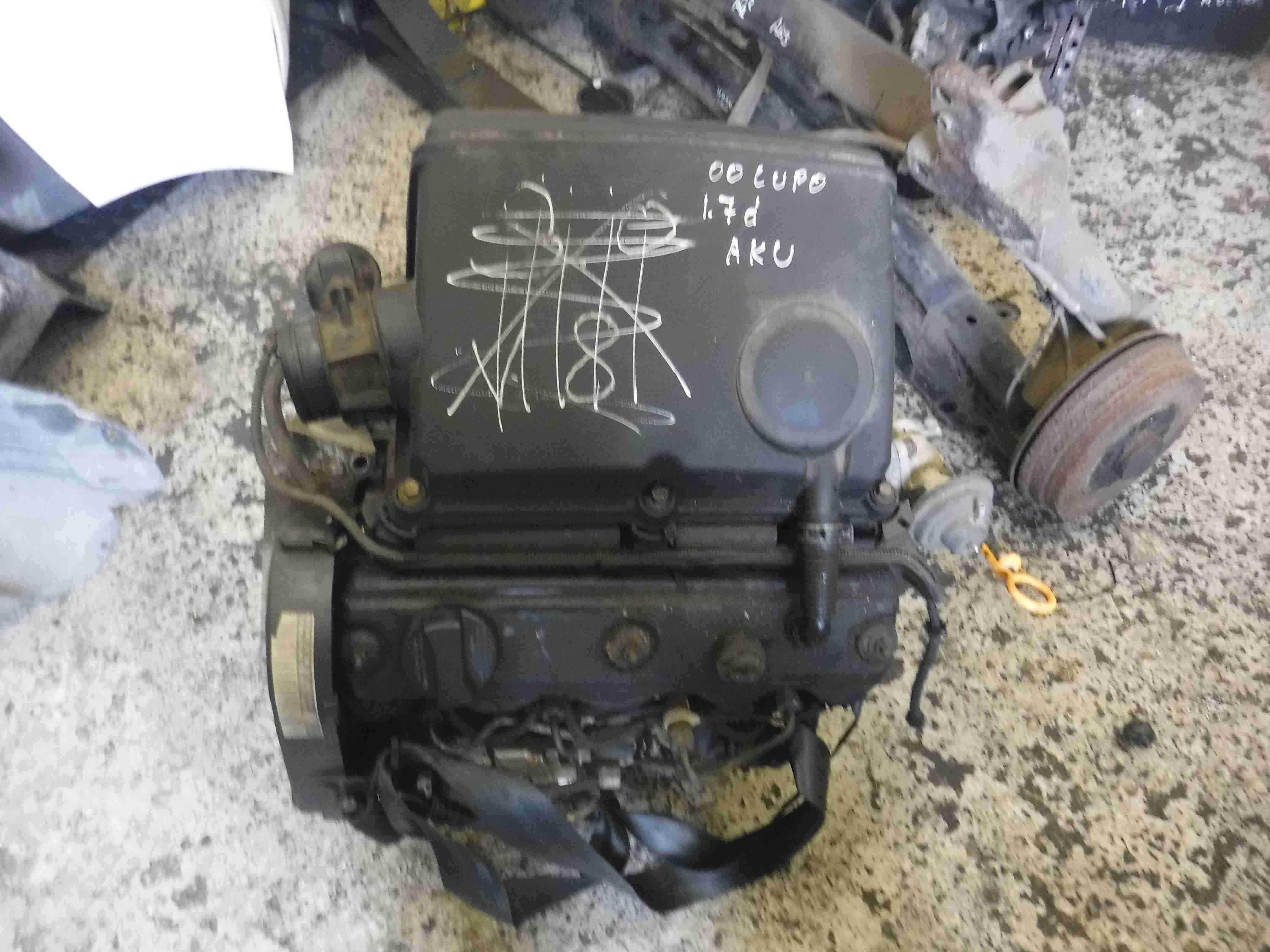 Volkswagen Lupo 1998-2005 1.7 SDI Engine AKU