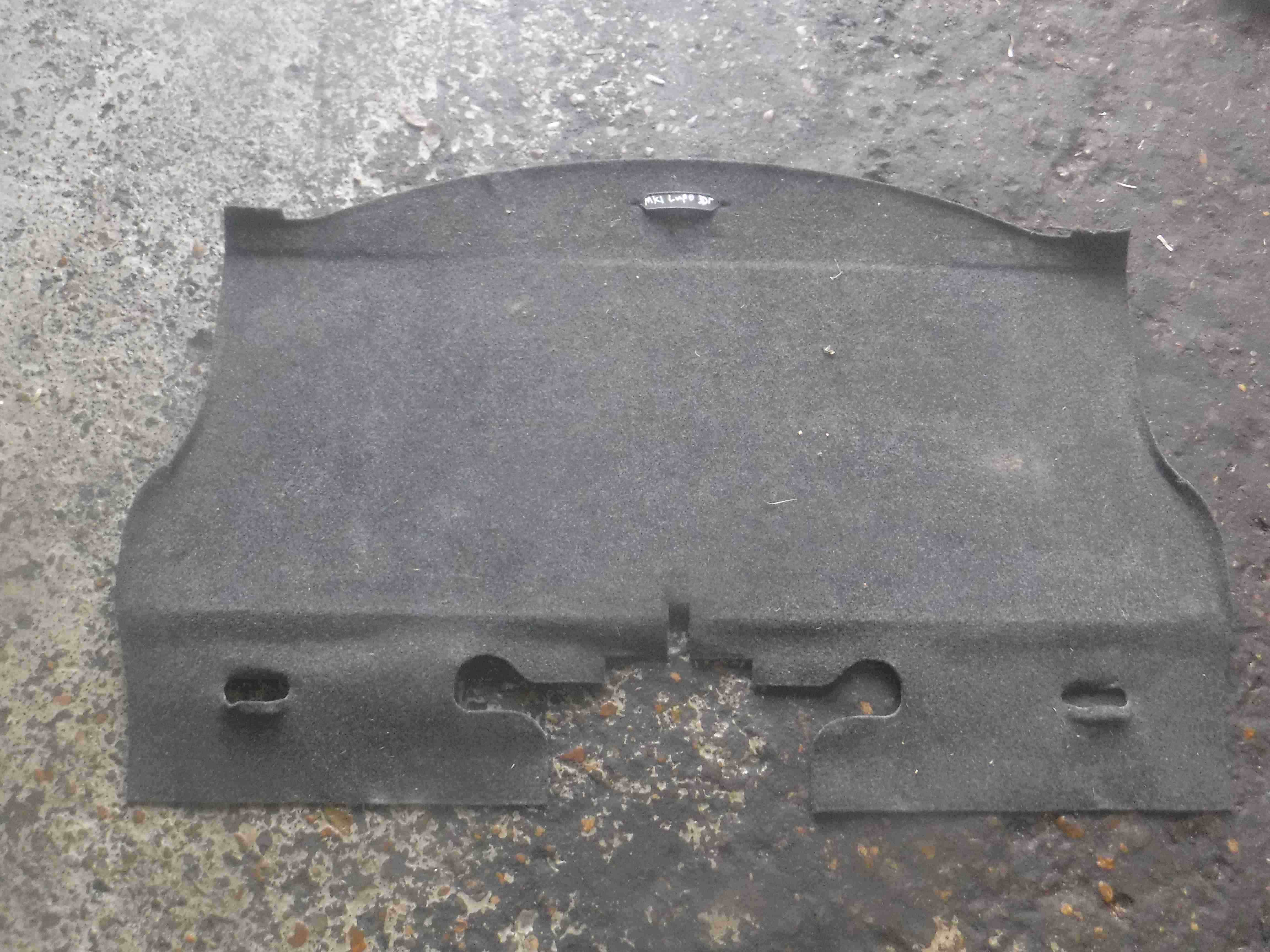 Volkswagen Lupo 1998-2005 Boot Carpet