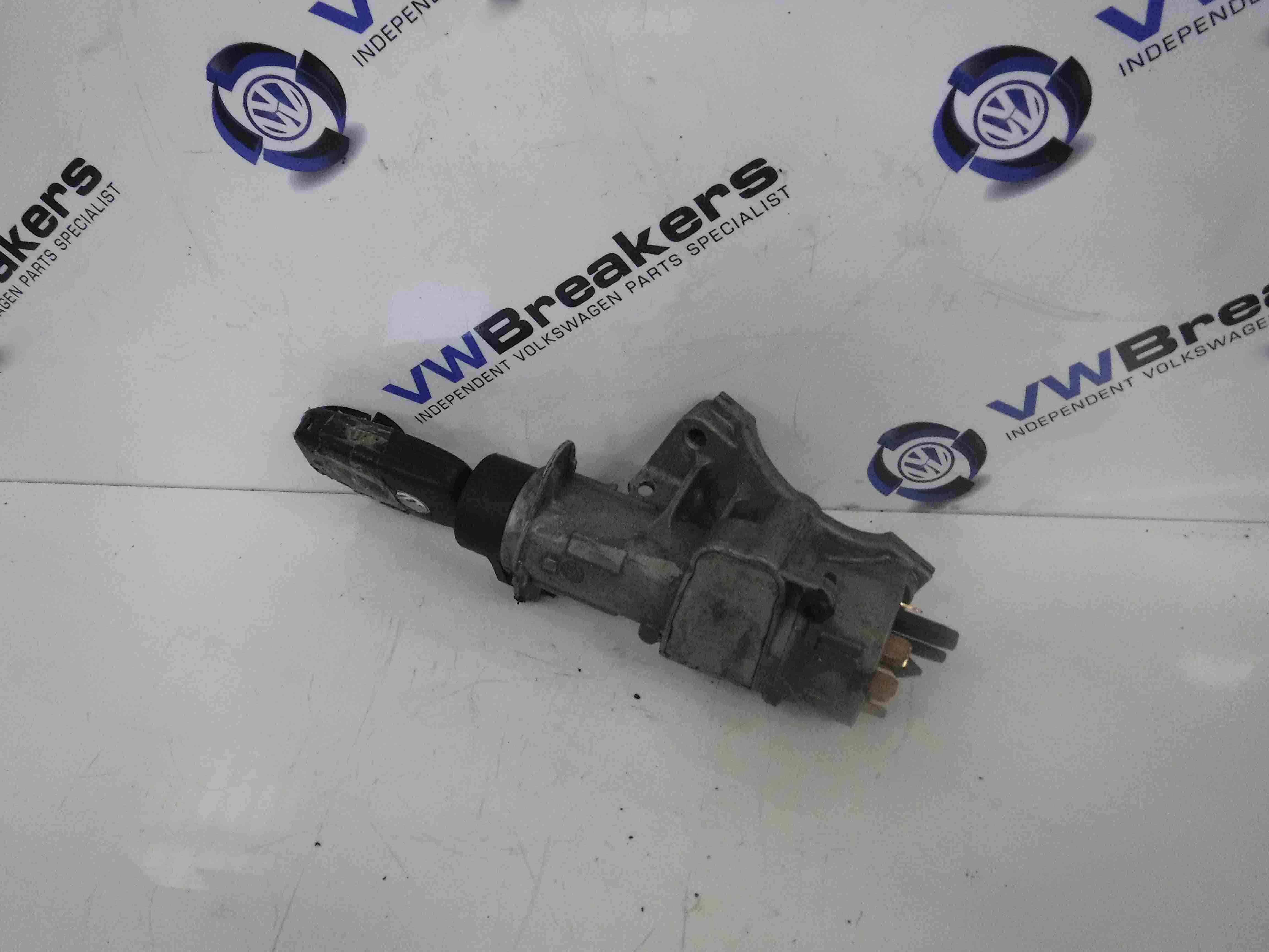 Volkswagen Passat 1996-2000 Ignition Barrel + Key 4B0905851A