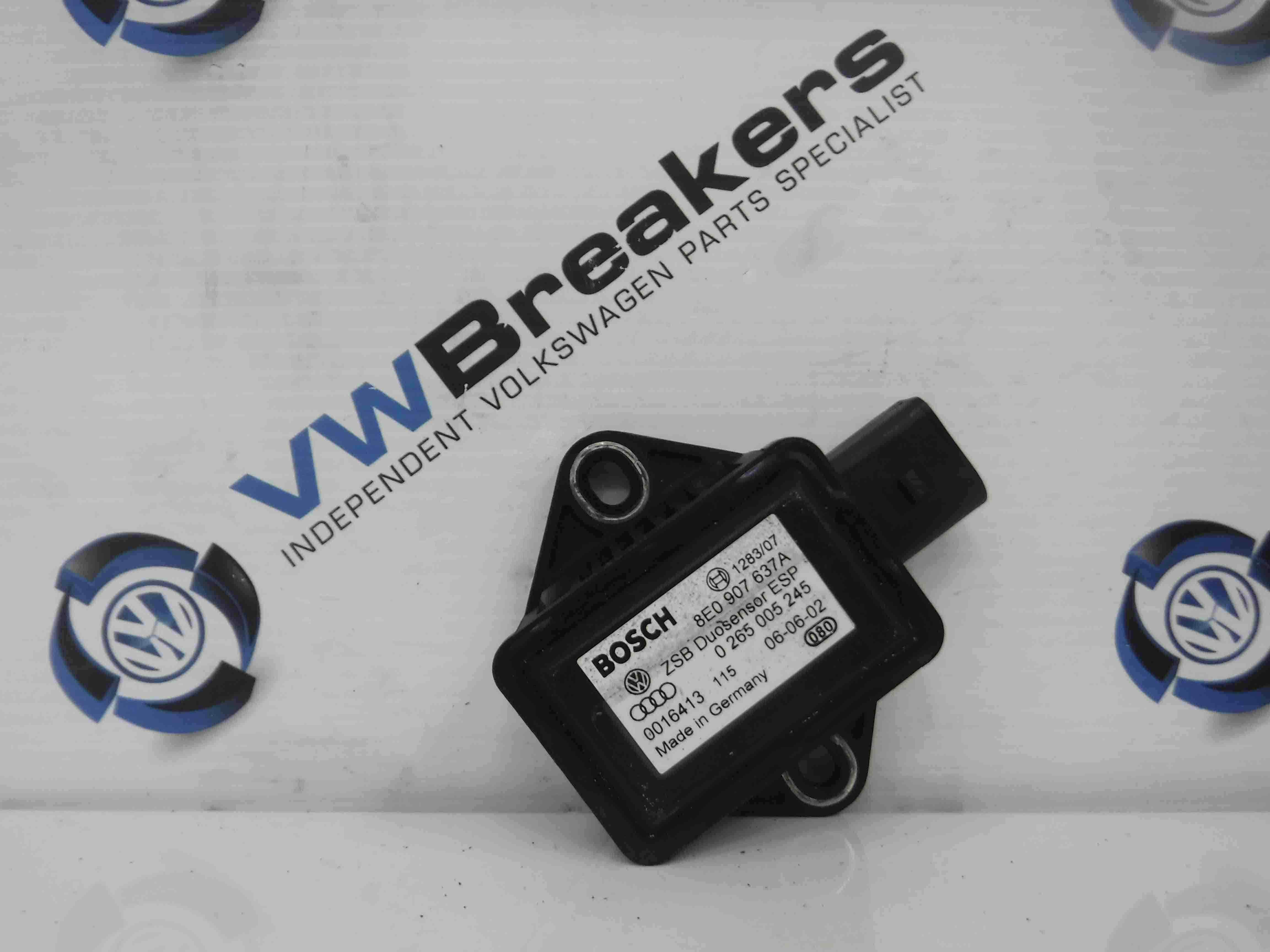 Volkswagen Passat 2001-2005 Accelerator YAW ESP Sensor Module 8E0907637A
