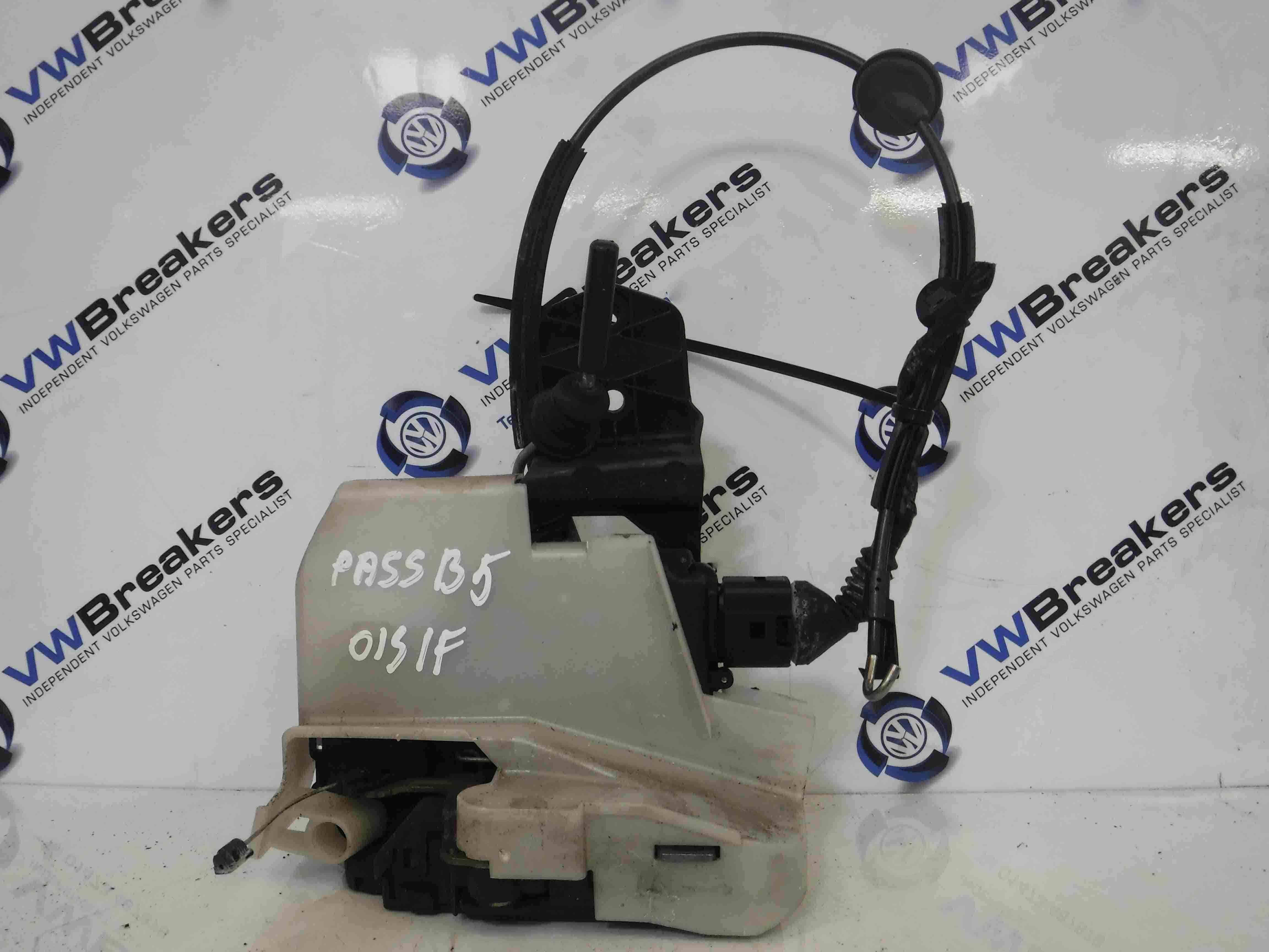 Volkswagen Passat 2001-2005 B5.5 Drivers OSF Front Door Lock Mechanism 3b0837868