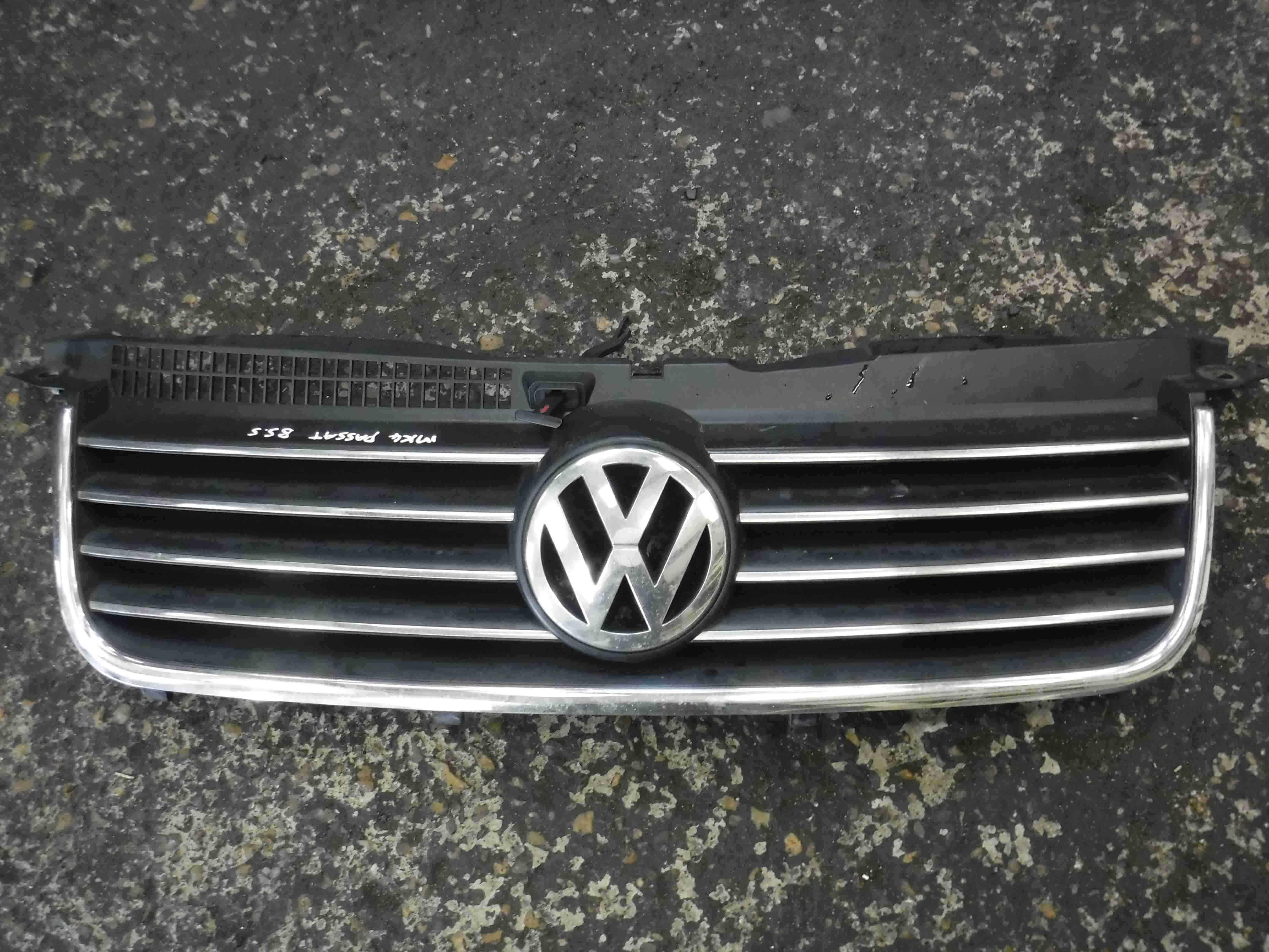 Volkswagen Passat 2001-2005 B5.5 Front Bumper Grill Grille Badge 3B0853651