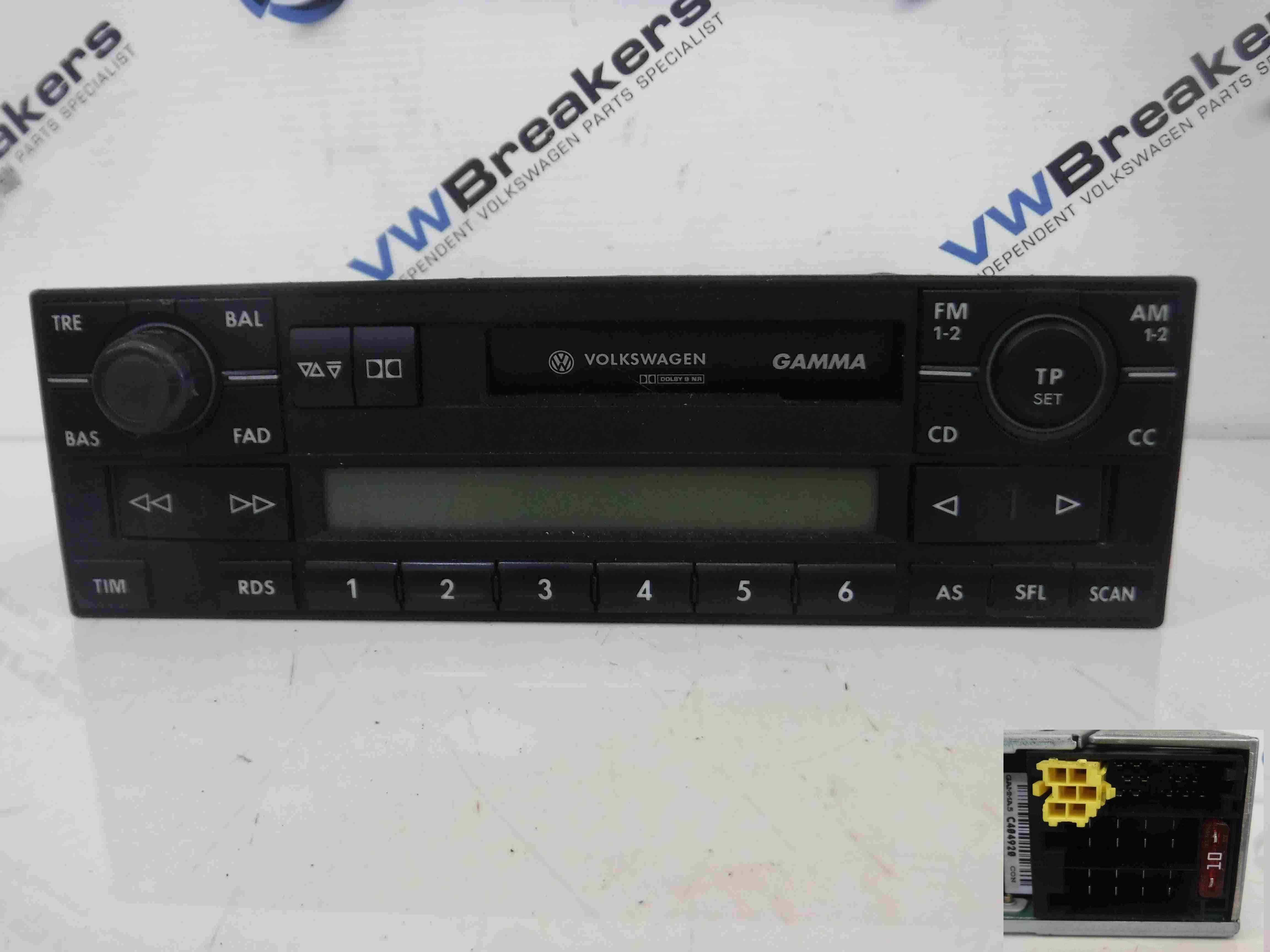 Volkswagen Passat 2001-2005 B5.5 Radio Casette Player 1J0035186D