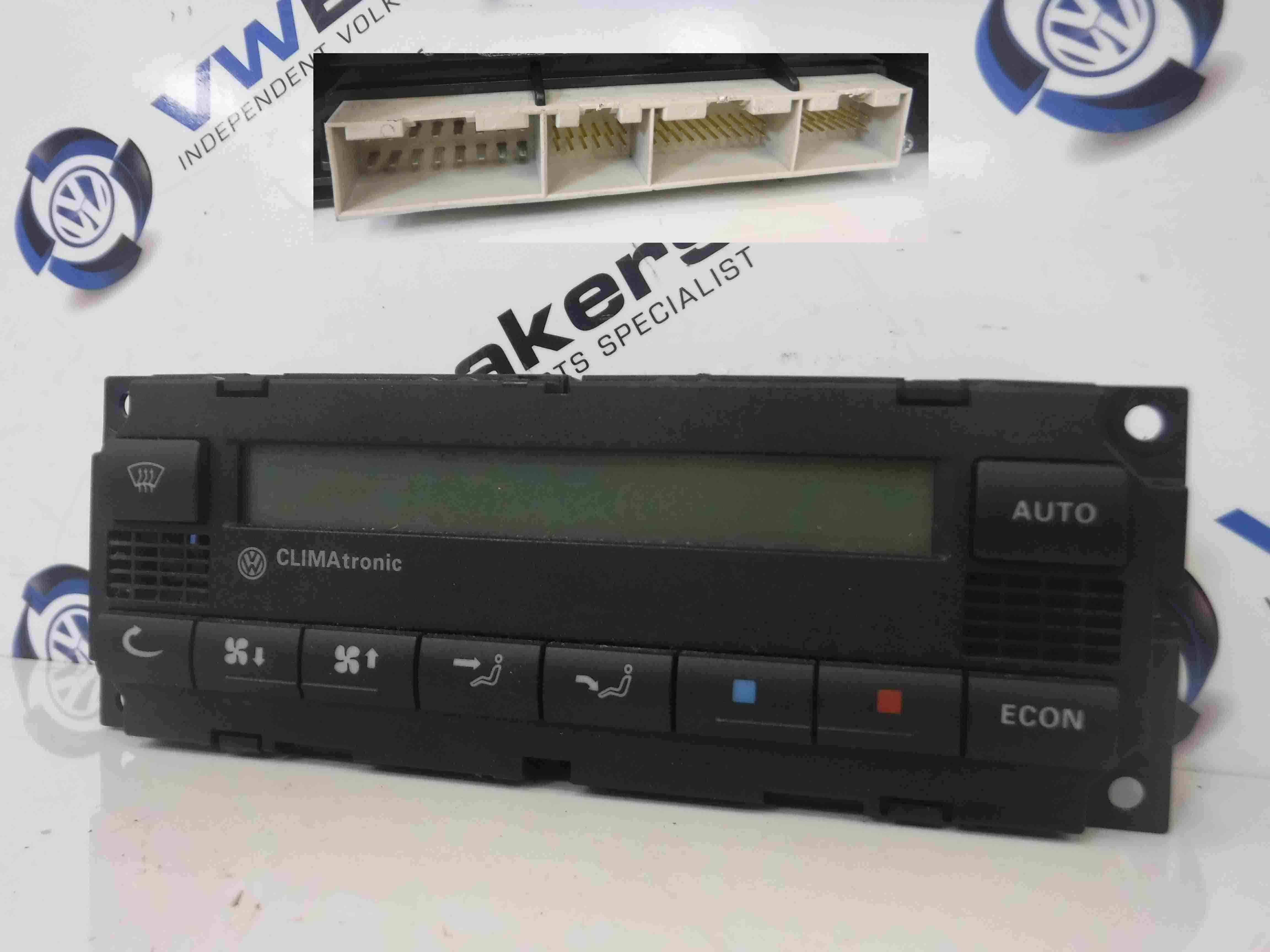 Volkswagen Passat 2001-2005 Heater Blower Controls Panel Switch Dials