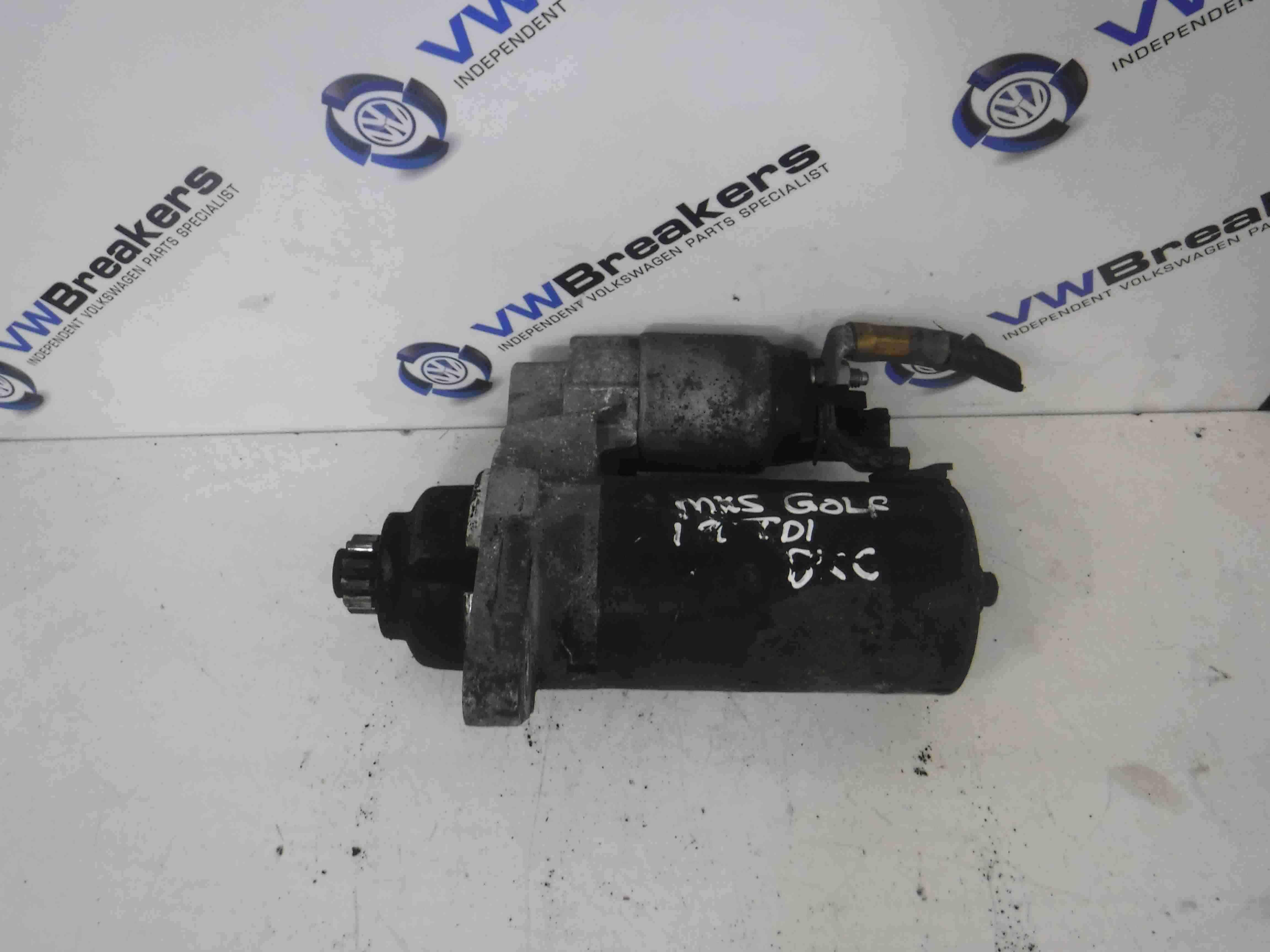 Volkswagen Passat B6 2005-2010 1.9 TDi Starter Motor Starting BXE 02Z911023