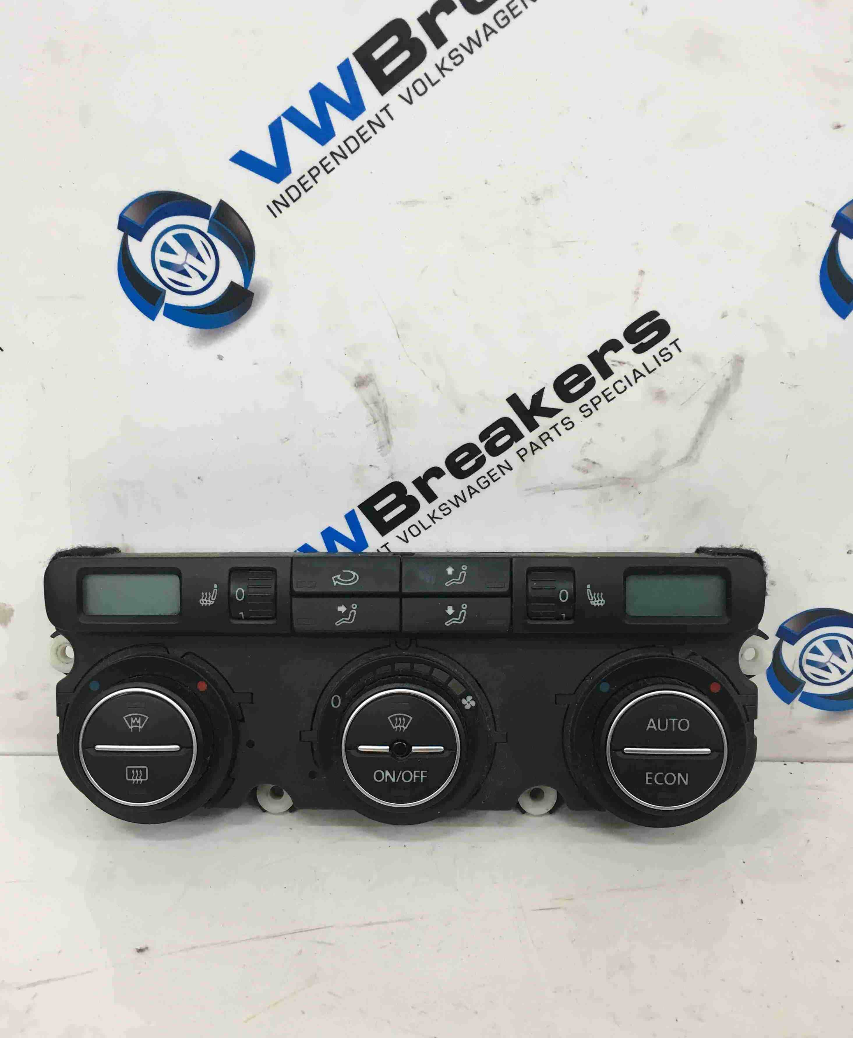 Volkswagen Passat B6 2005-2010 Heater Controls Climate Control With Heated Seats