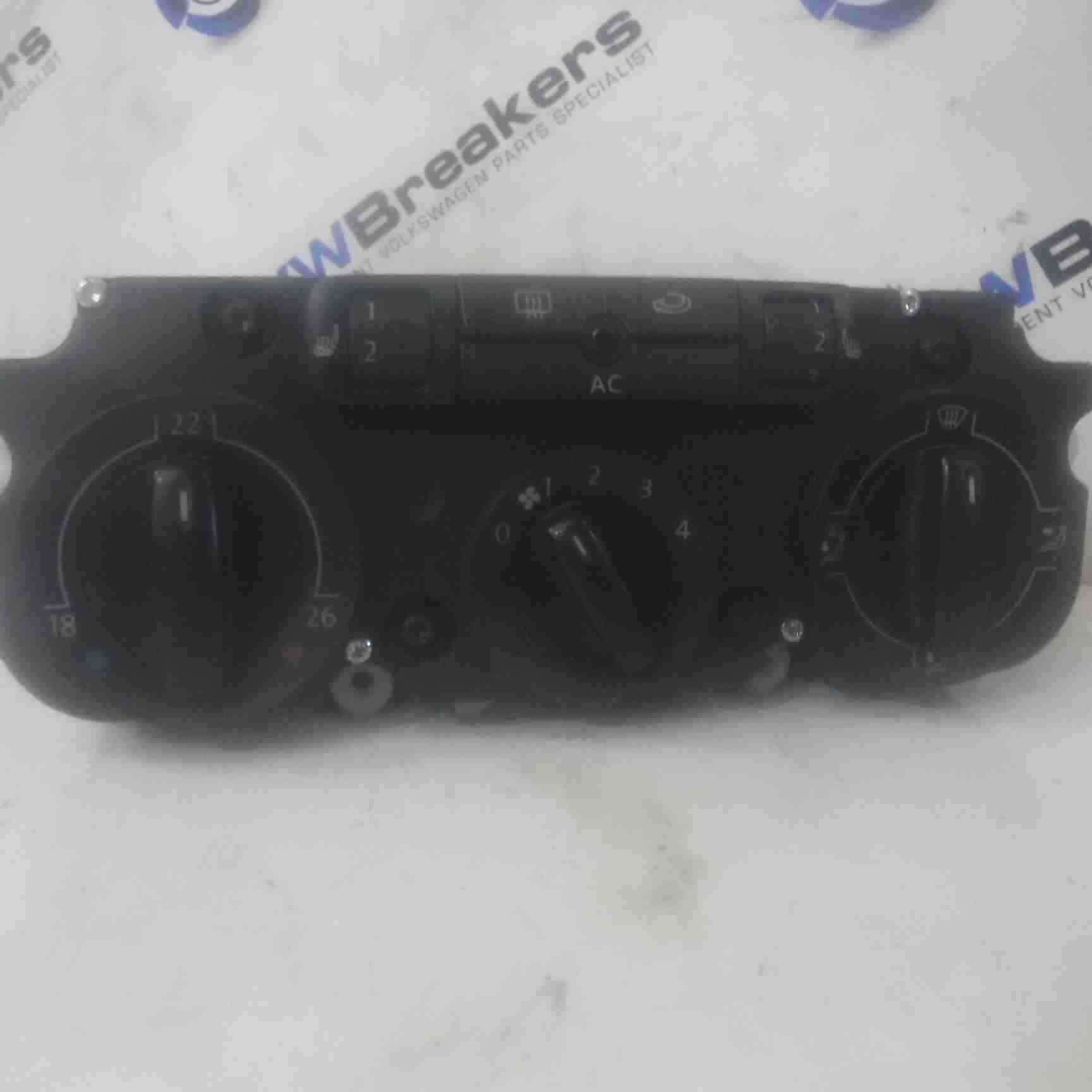 Volkswagen Passat B6 2005-2010 Heater Controls Dials Heated Seats Switches