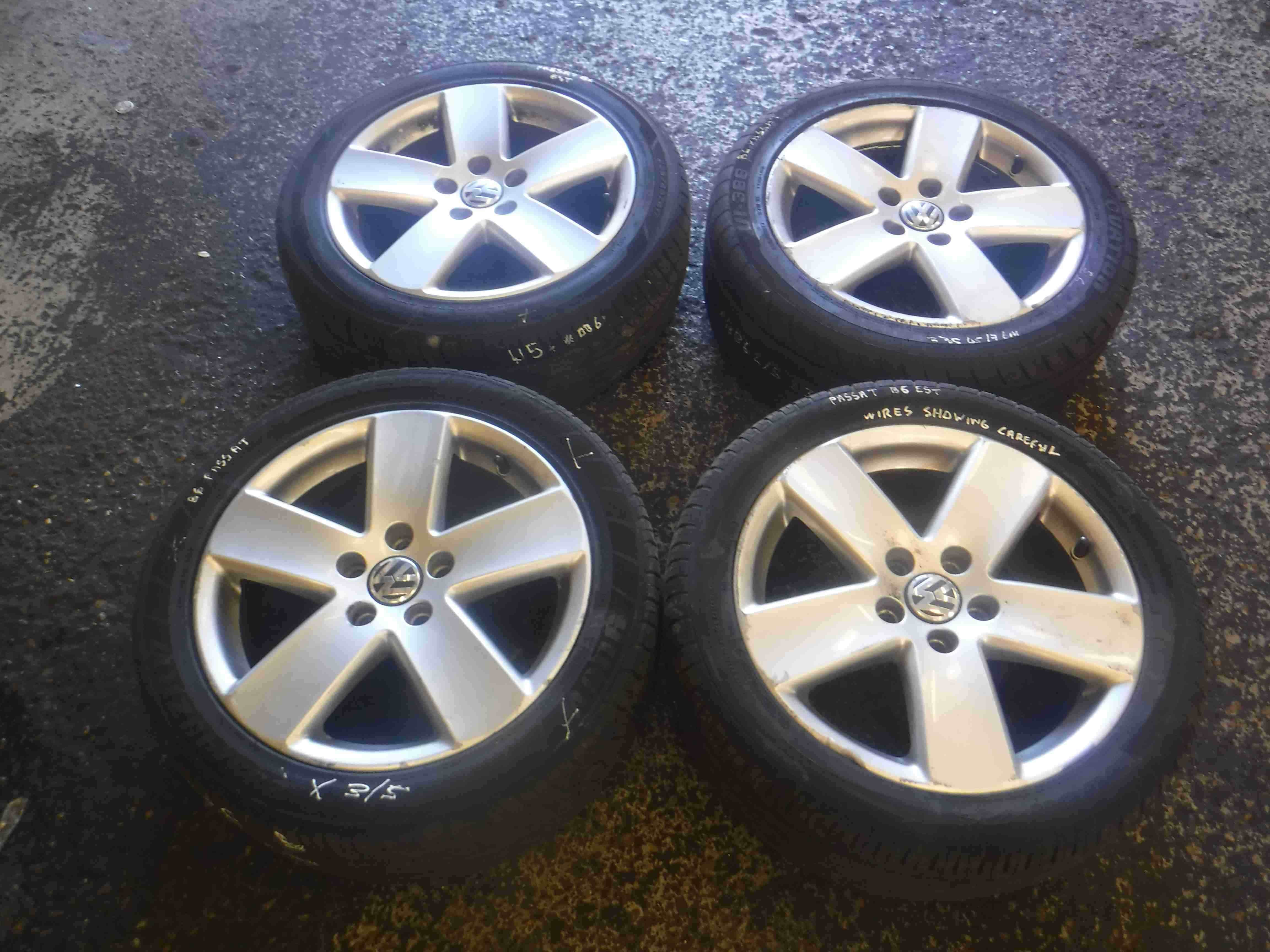 Volkswagen Passat B6 2005-2010 Monte Carlo Borbet Alloya Wheels Set X4 17inch