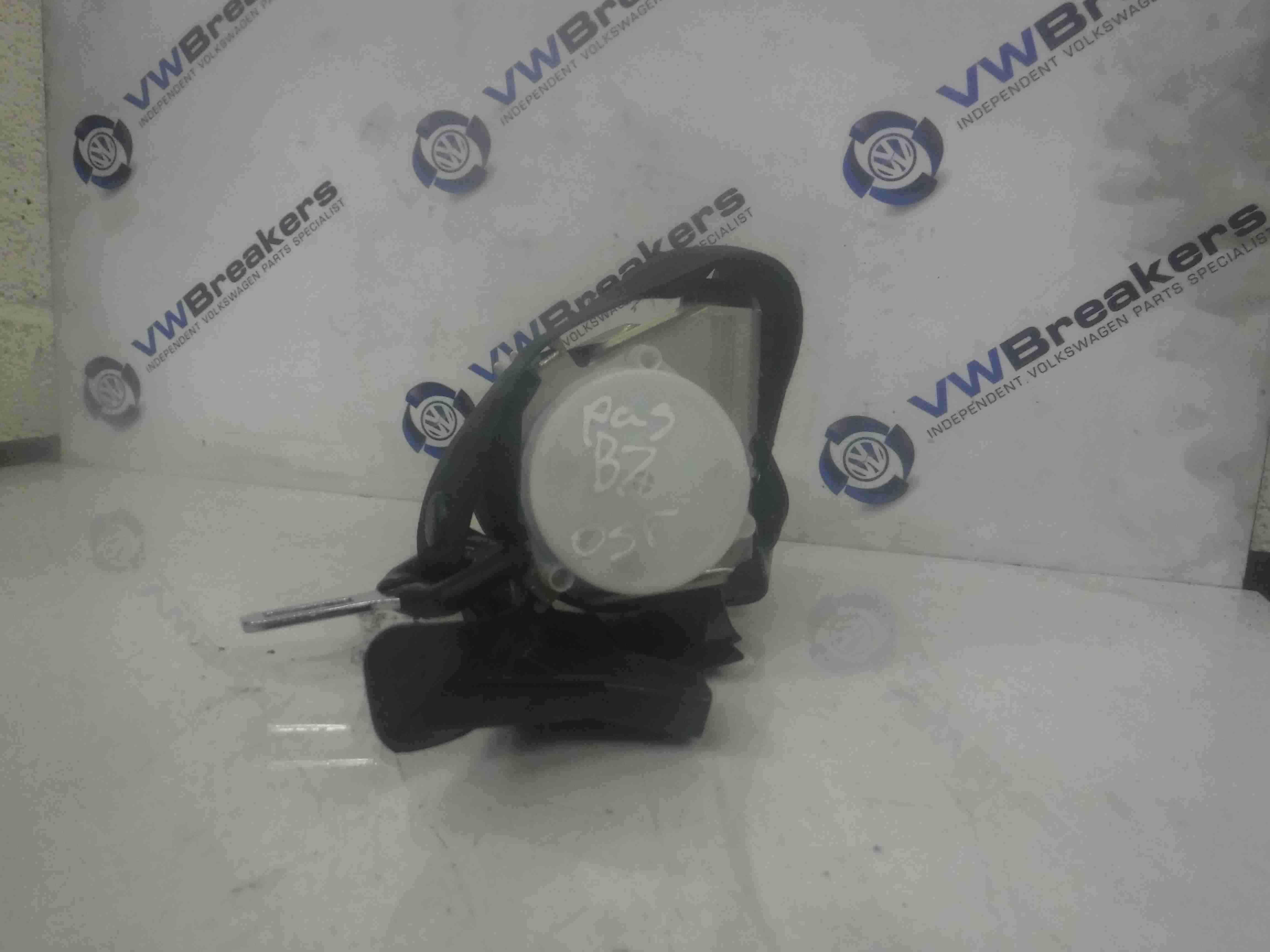 Volkswagen Passat B7 2010-2015 Drivers OSR Rear Seat Belt