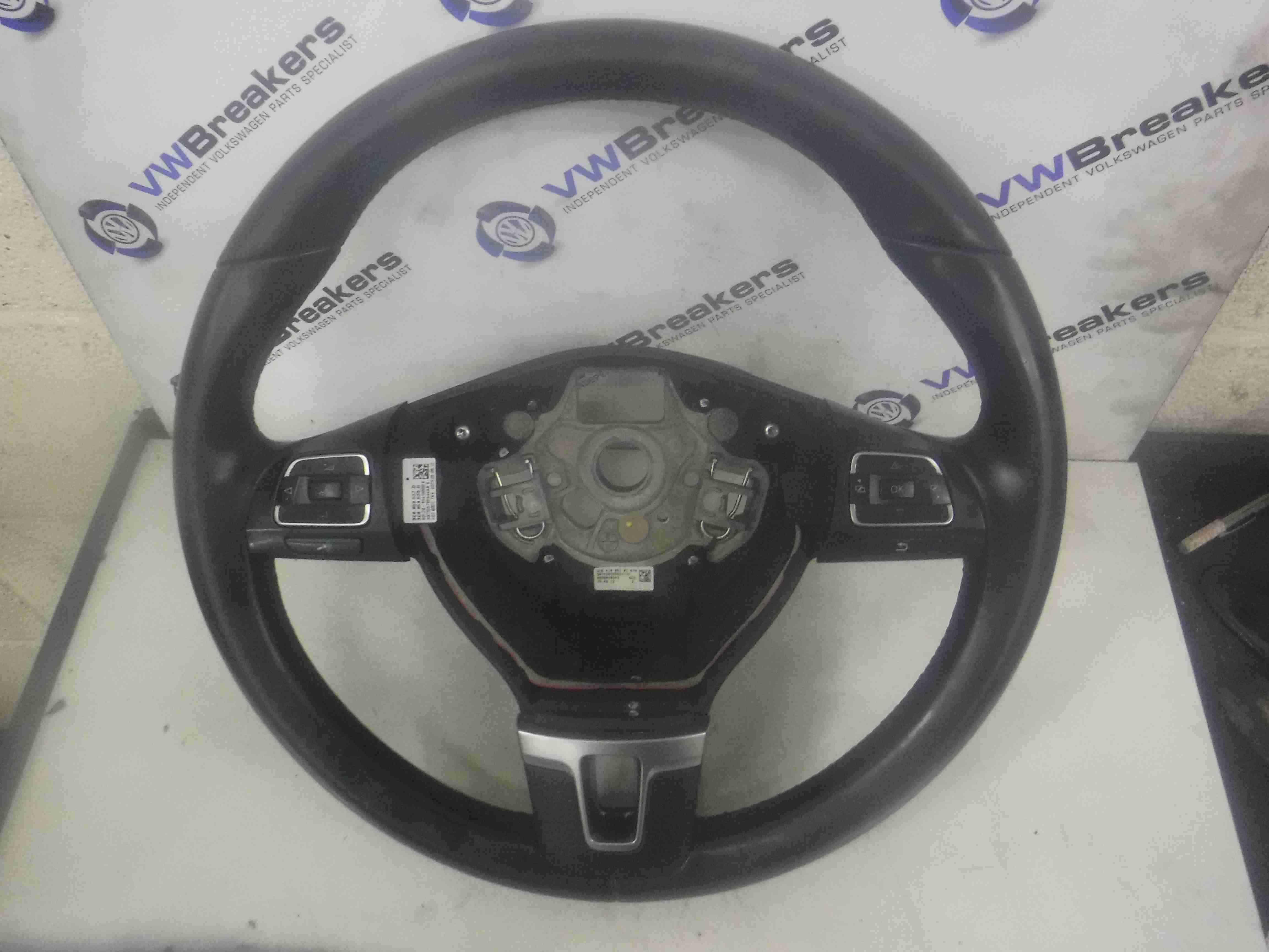 Volkswagen Passat B7 2010-2015 Leather Steering Wheel 3C8959538G 3C8959537D