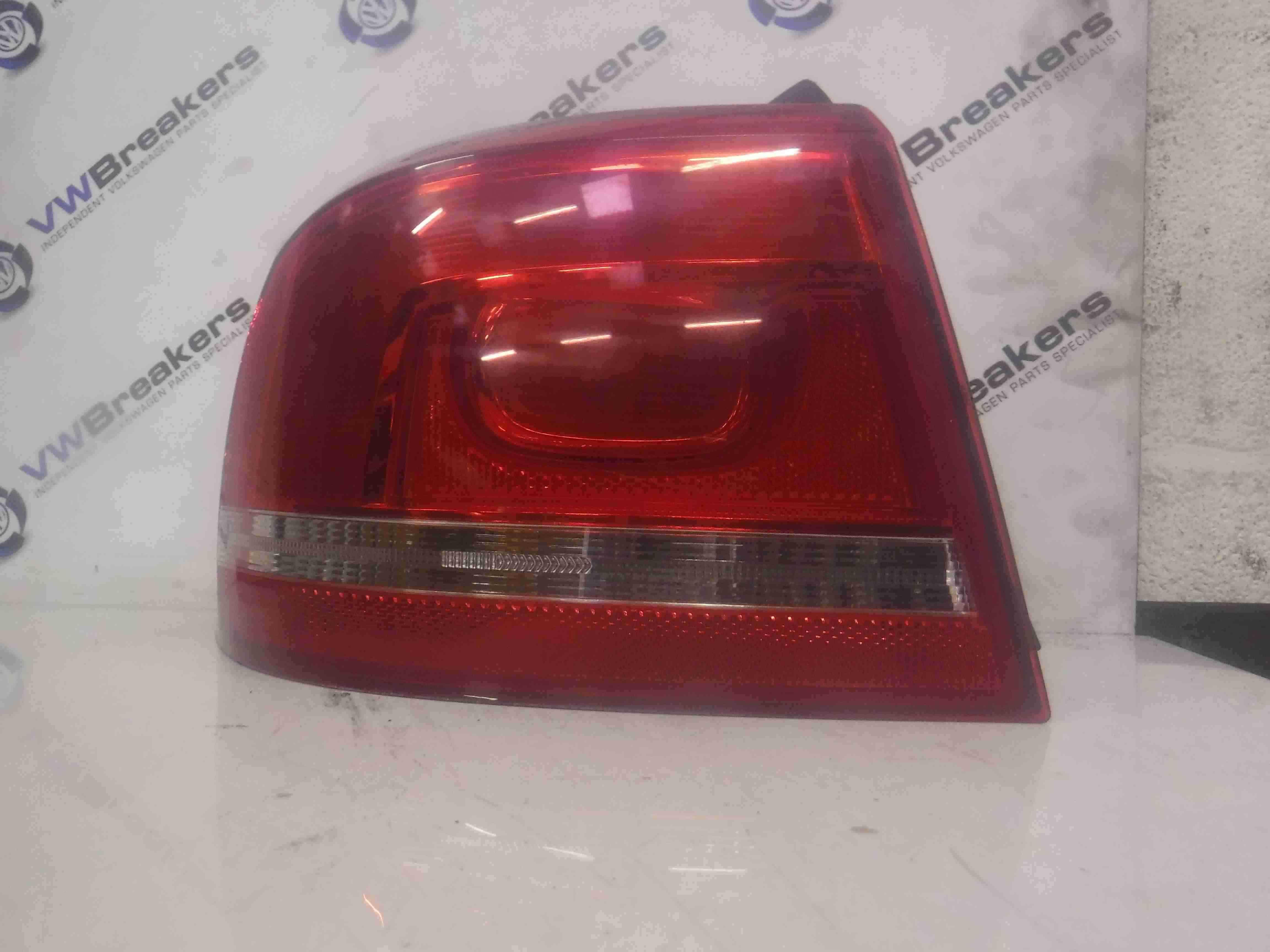 Volkswagen Passat B7 2010-2015  Estate Passenger NSR Rear Outer Light Lens