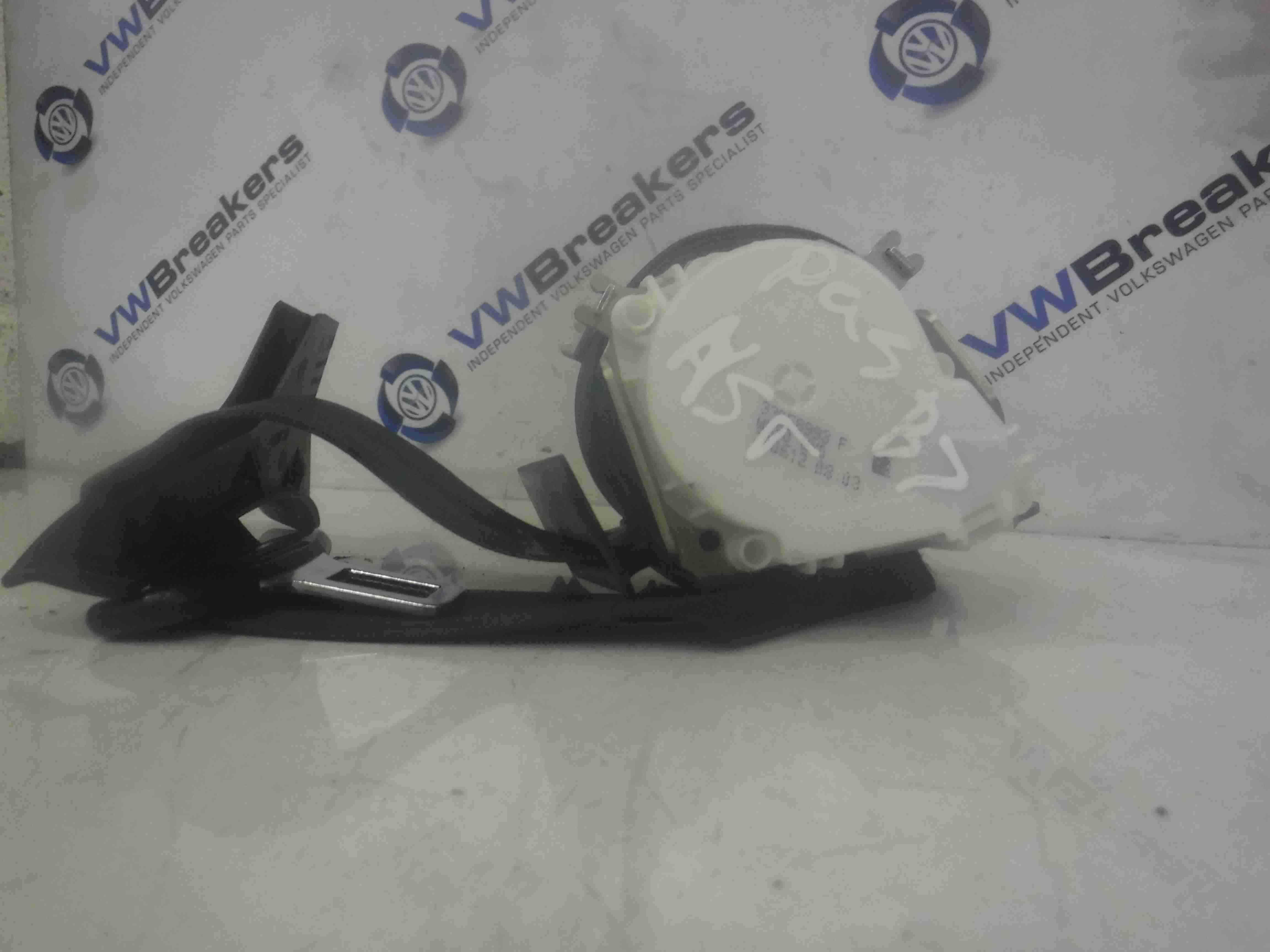 Volkswagen Passat B7 2010-2015 Passenger NSR Rear Seat Belt