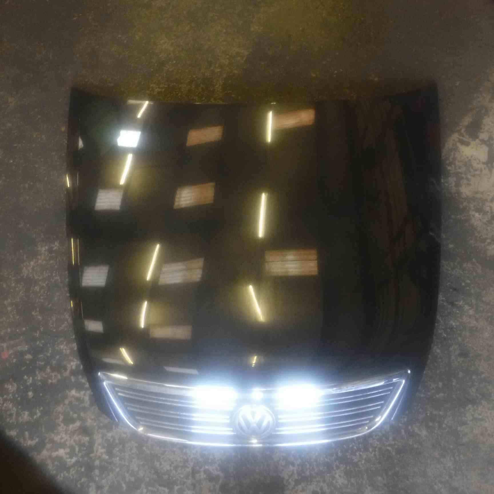 Volkswagen Phaeton 2002-2006 Front Bonnet Black  Grill