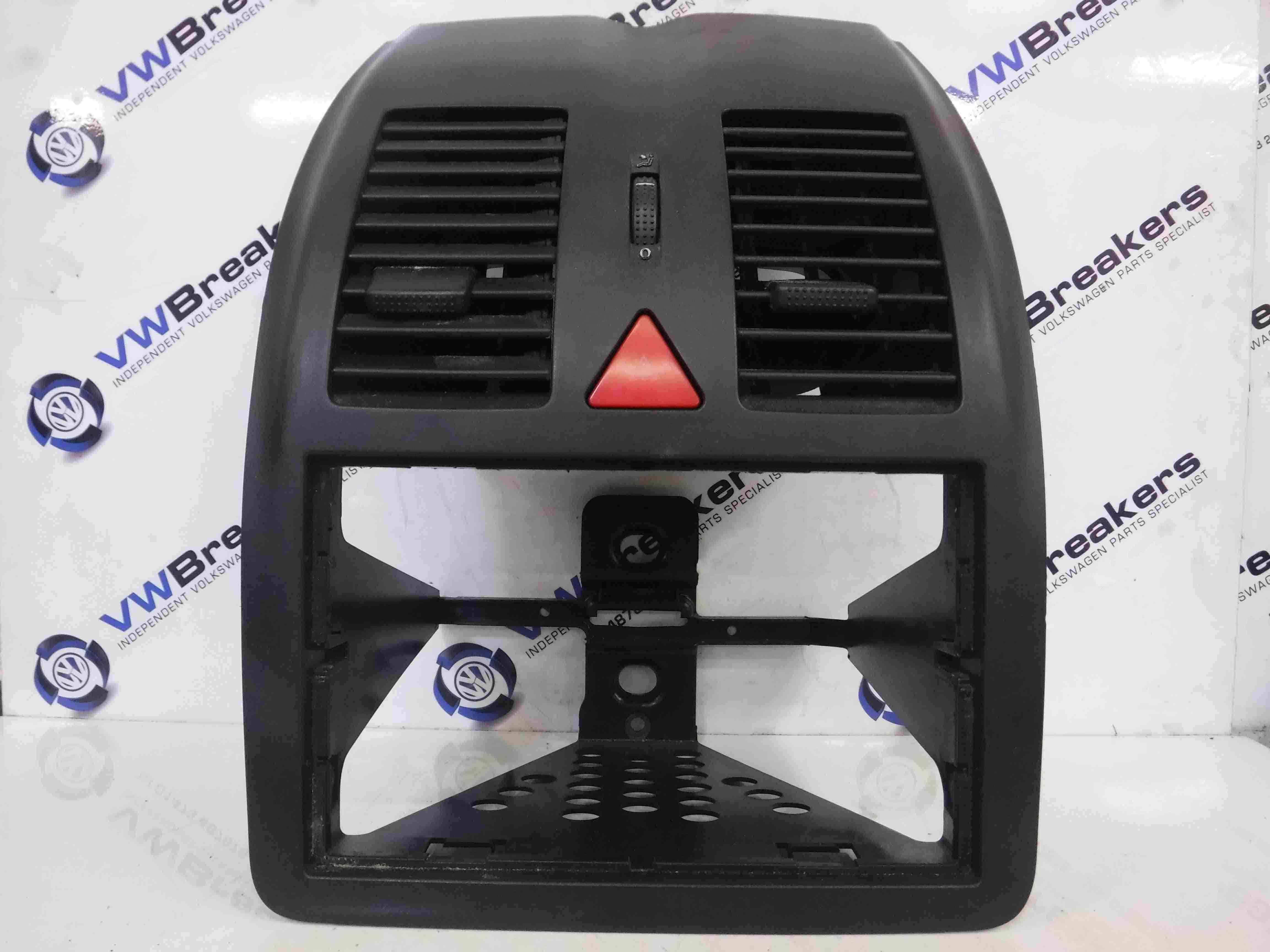 Volkswagen Polo 1999-2003 6N2 Centre Vents Heater Surround Plastic 6N0858069c