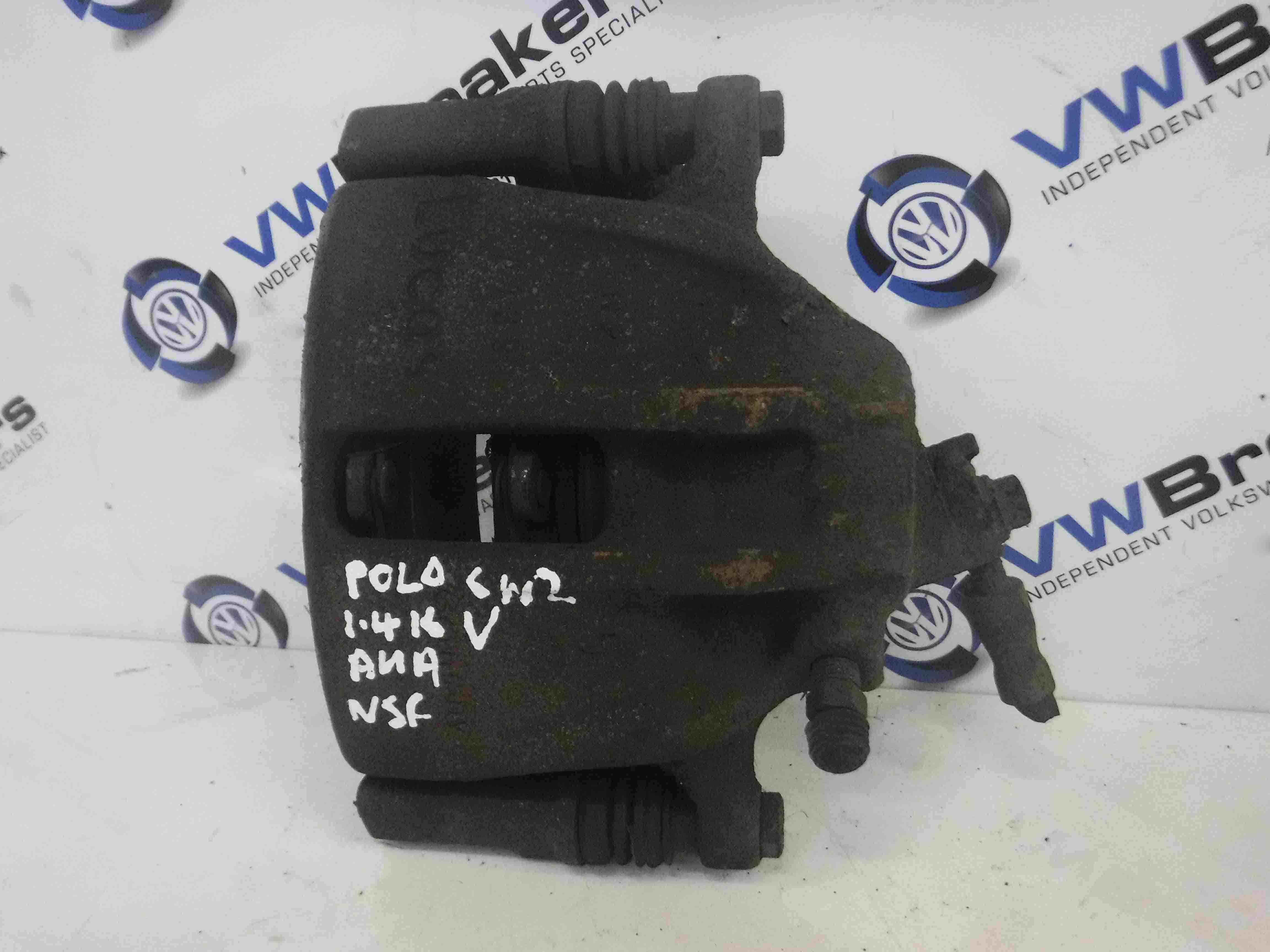 Volkswagen Polo 1999-2003 6N2 Passenger NSF Front Brake Caliper