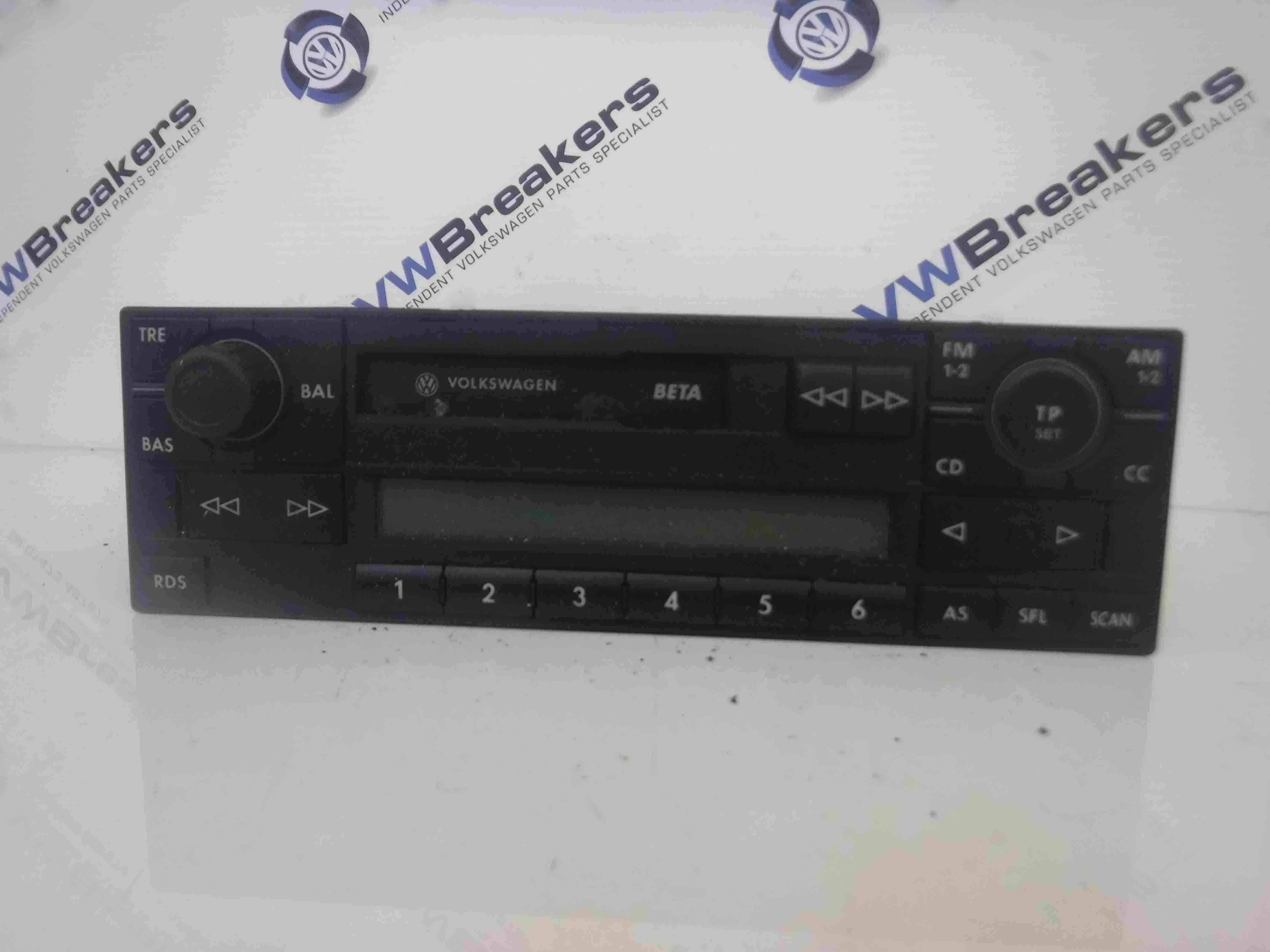 Volkswagen Polo 1999-2006 6N2 9N Radio Tape Casette Player 6X0035152B