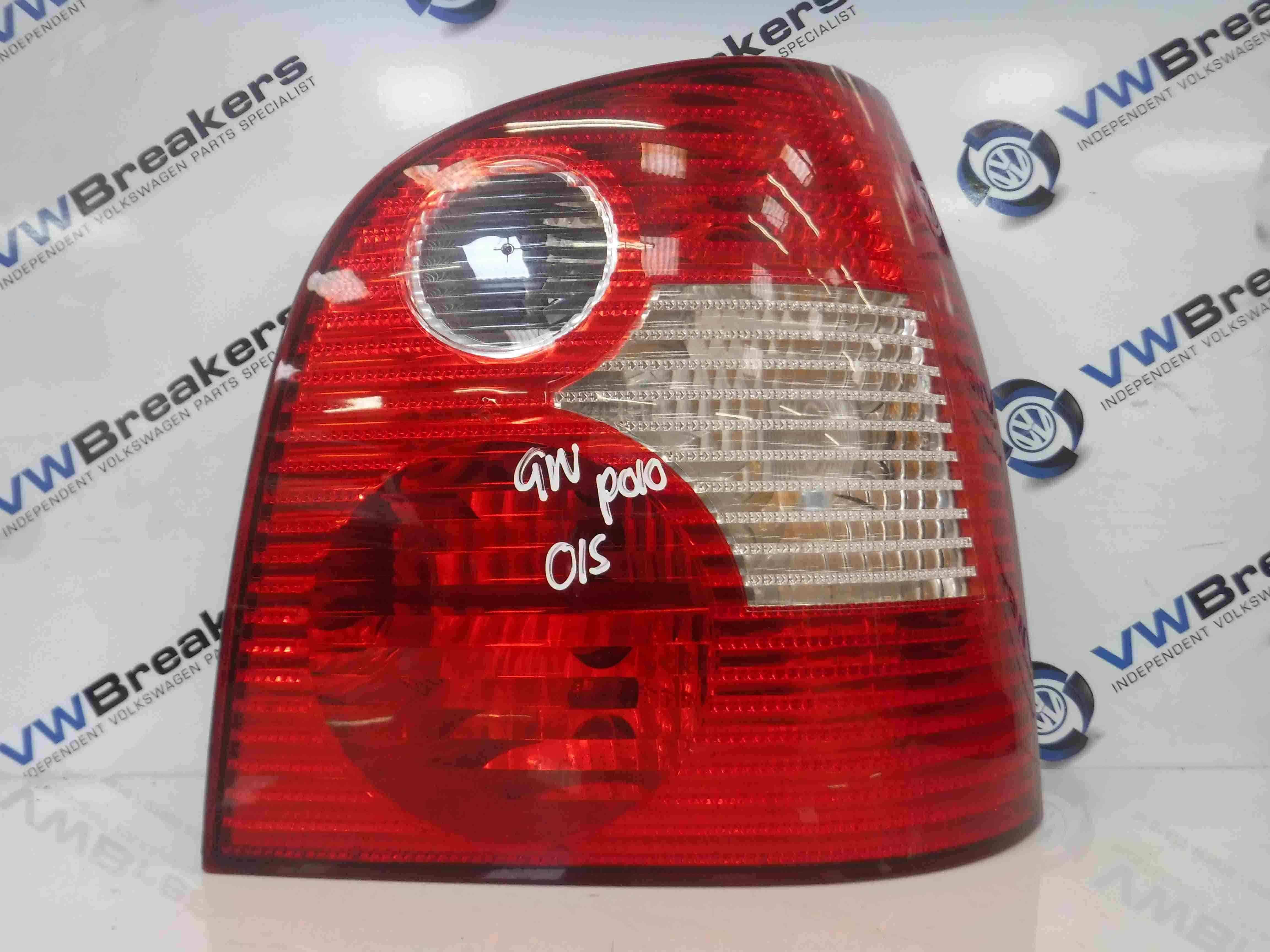 Volkswagen Polo 2003-2006 9N Drivers OSR Rear Light Lens 6Q6945112a