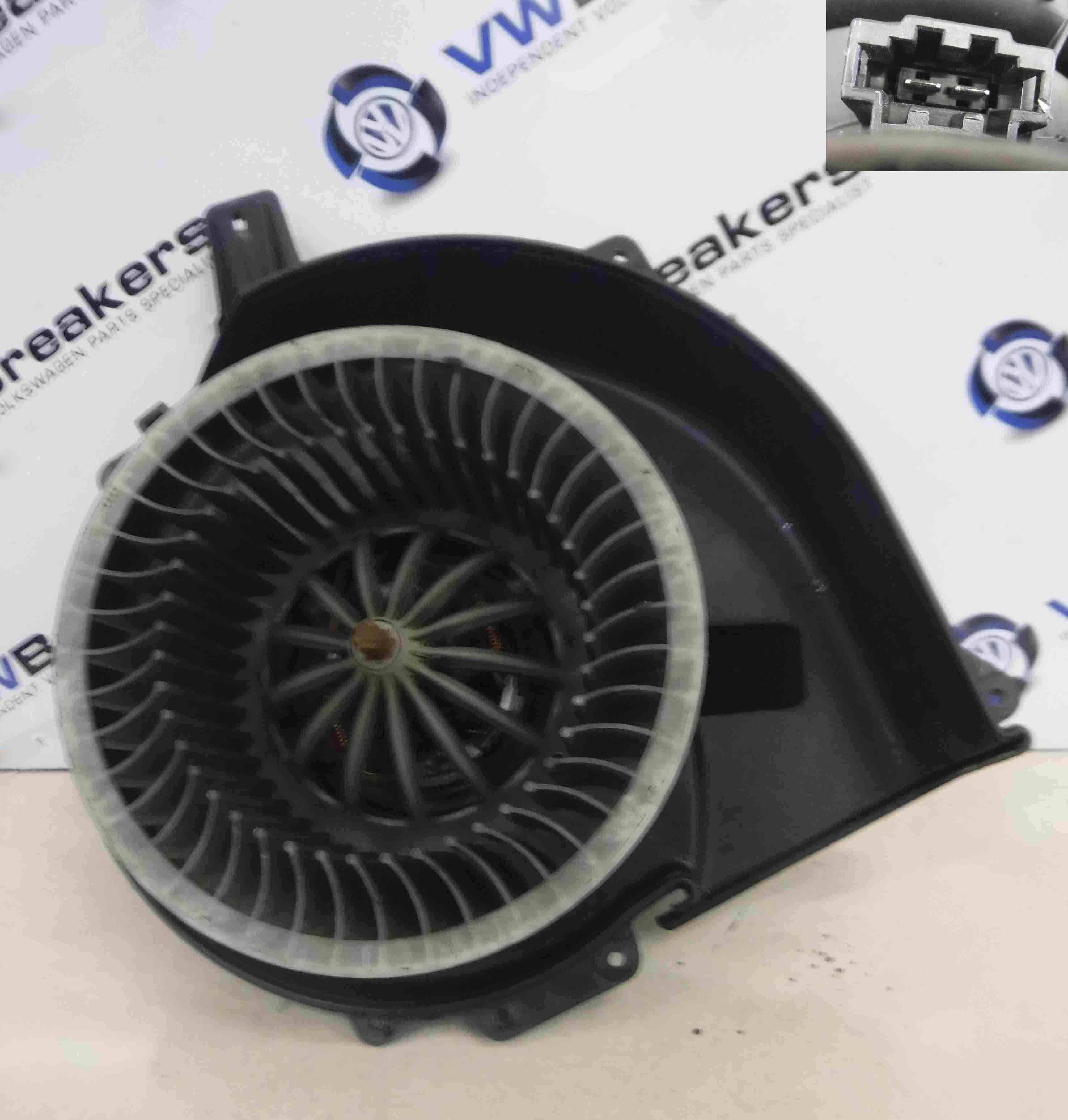 Volkswagen Polo 2003-2006 9N Heater Blower Motor Fan 6q2819015c 6q2819015g