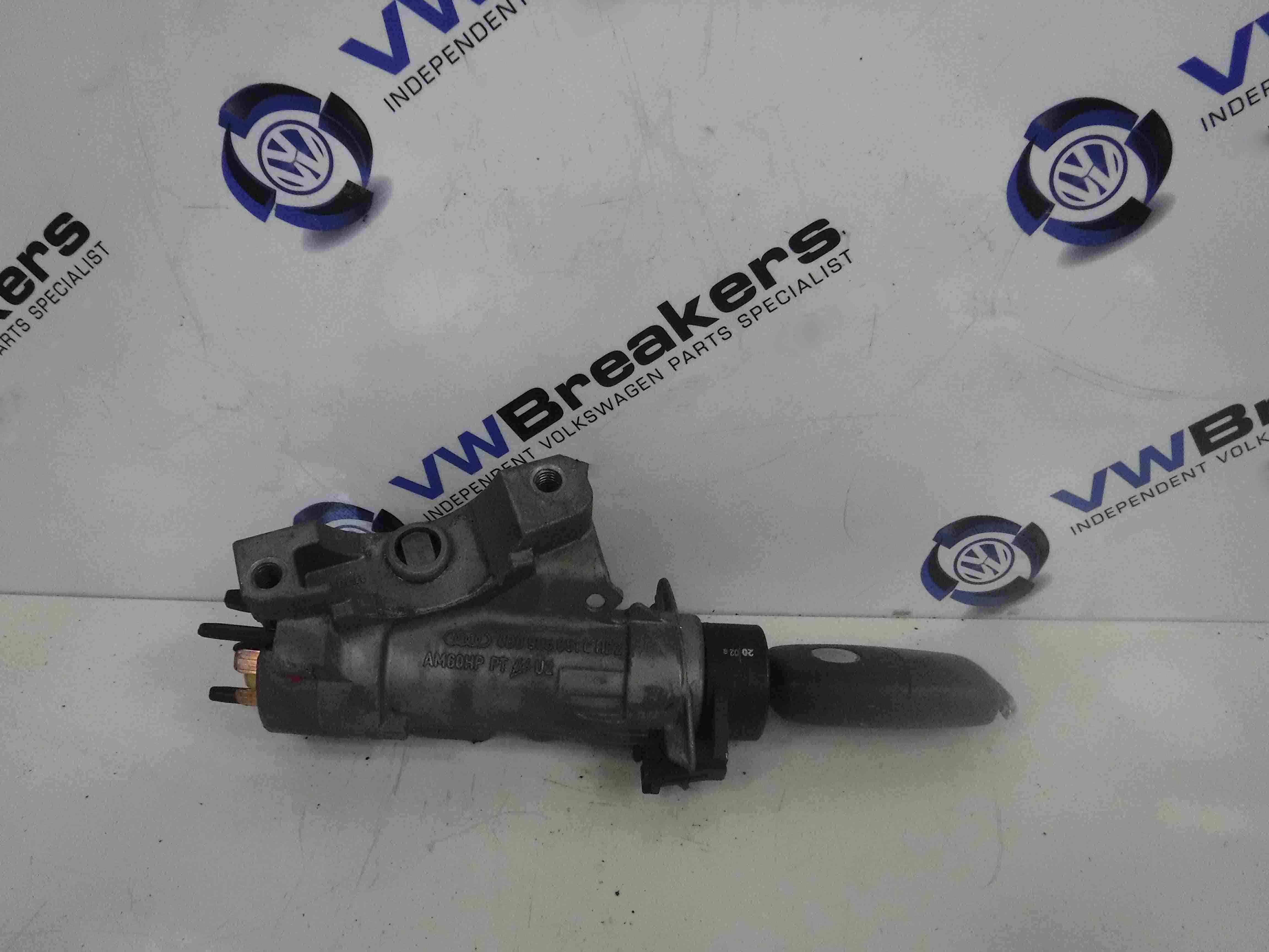 Volkswagen Polo 2003-2006 9N Ignition Barrel + Key 4B0905851C