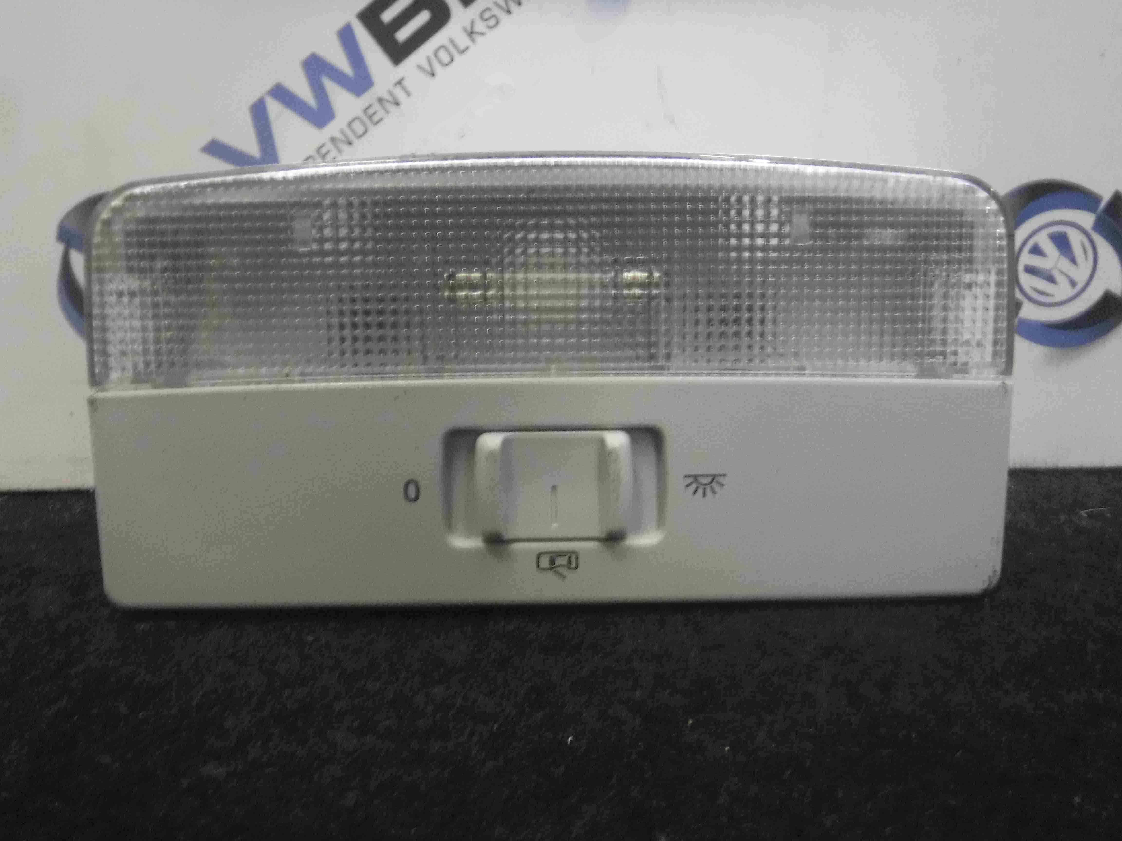 Volkswagen Polo 2003-2006 9N 9N3 Interior Roof Light 6Q0947105F
