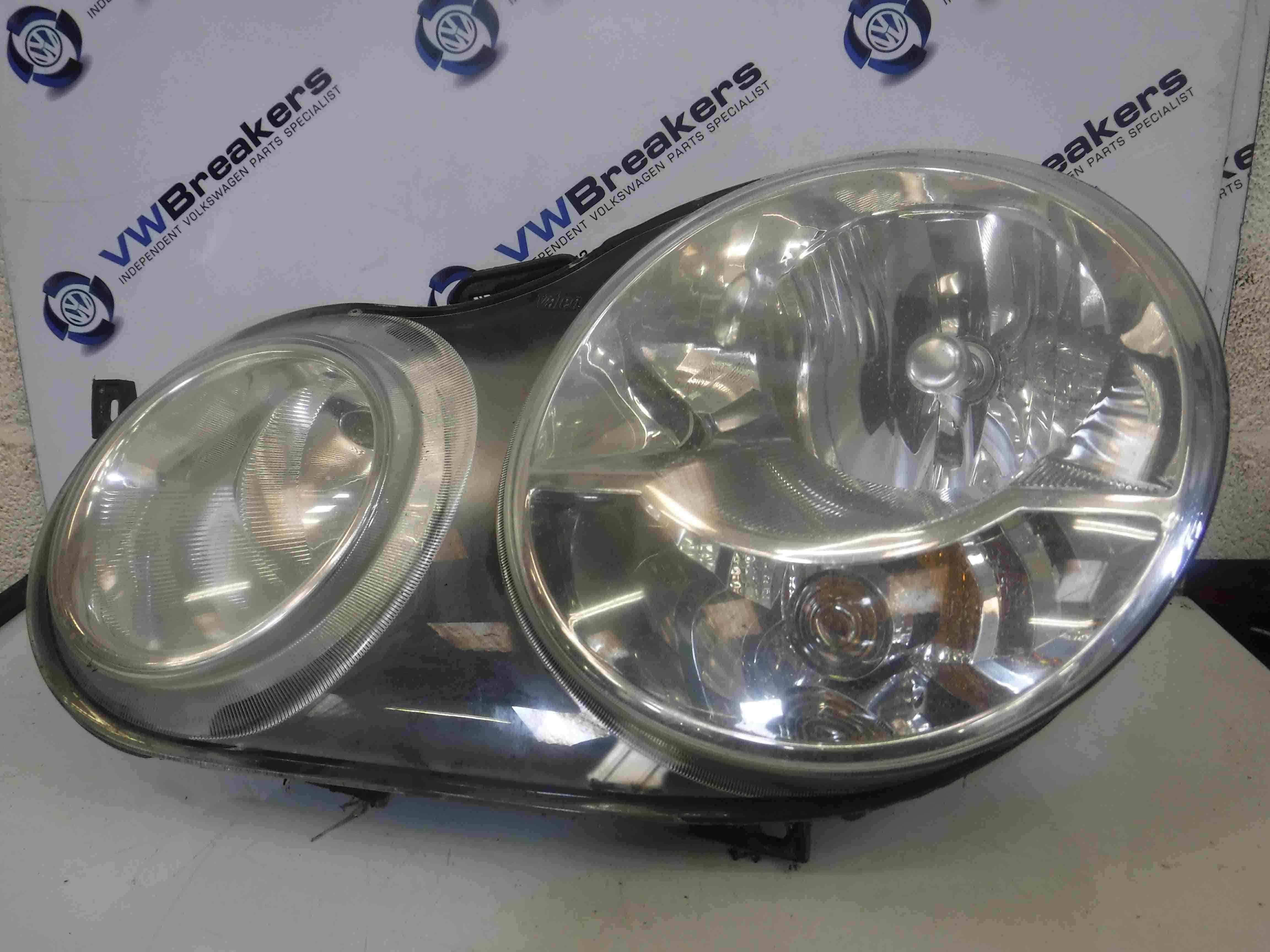 Volkswagen Polo 2003-2006 9N Passenger NSF Front Headlight 6Q2941007G