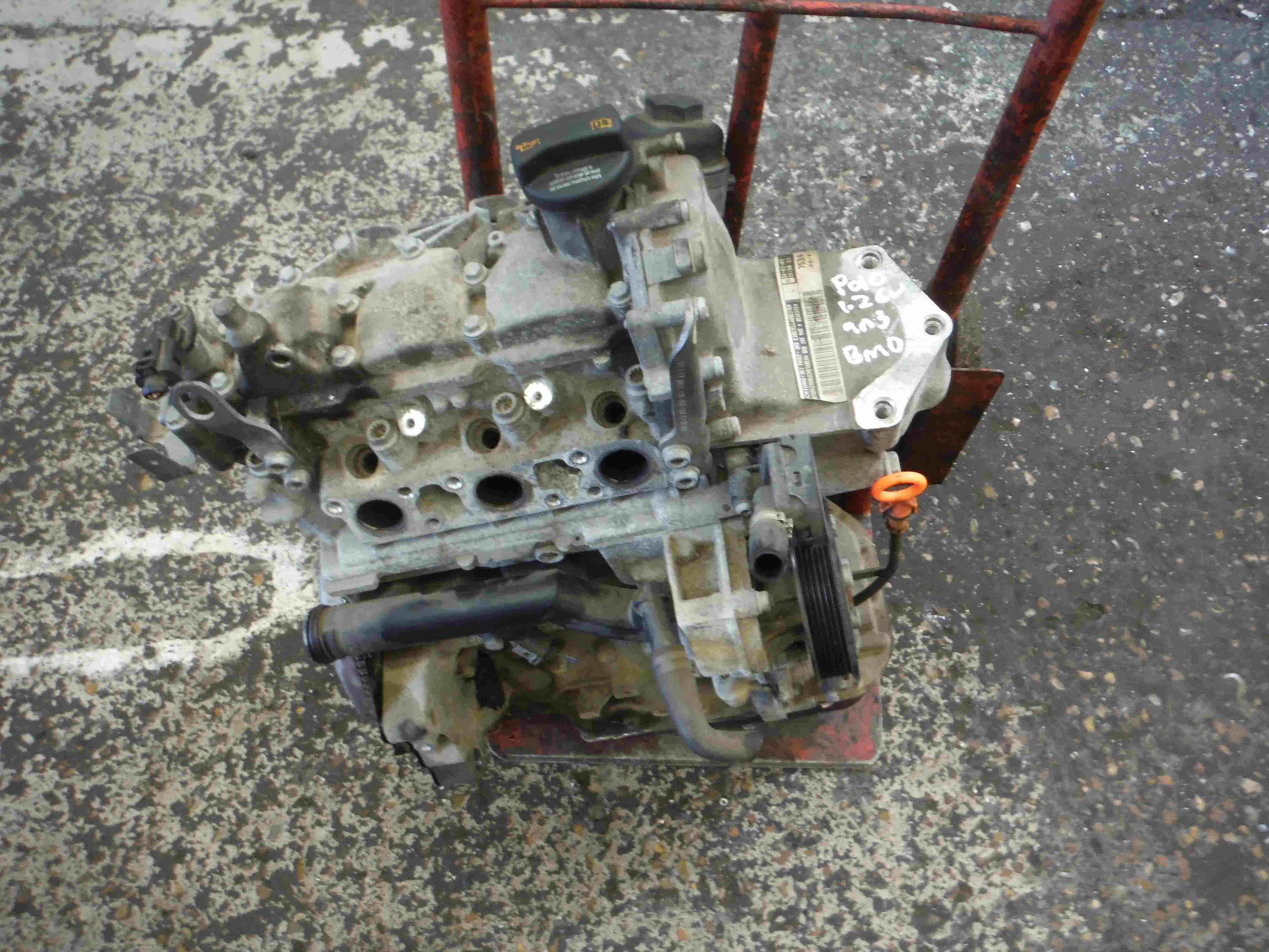 Volkswagen Polo  Fox 2006-2008 9N3 1.2 6v 3 Cylinder Engine BMD bmd