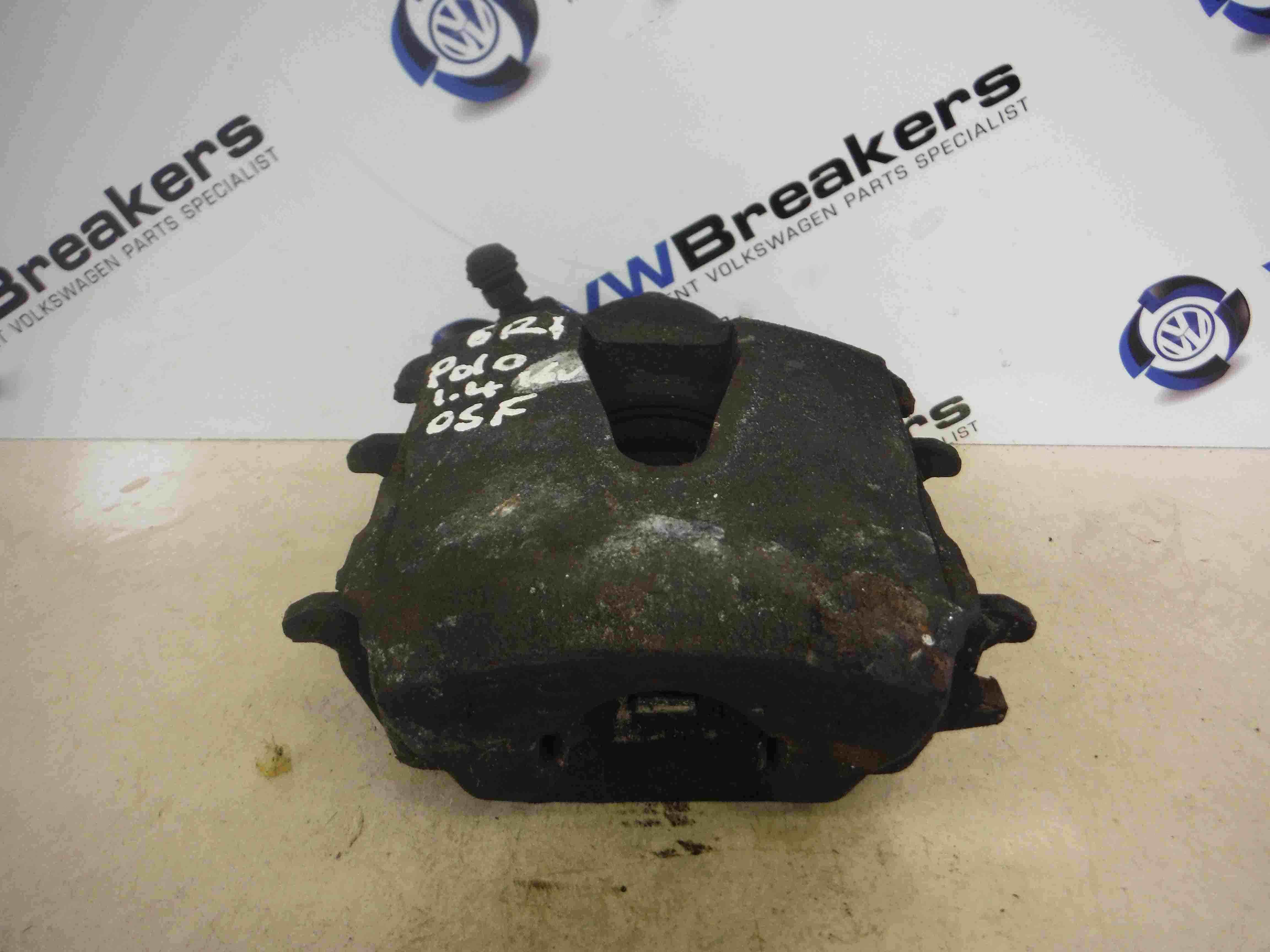 Volkswagen Polo 2009-2015 6R 1.4 16v Drivers OSF Front Brake Caliper