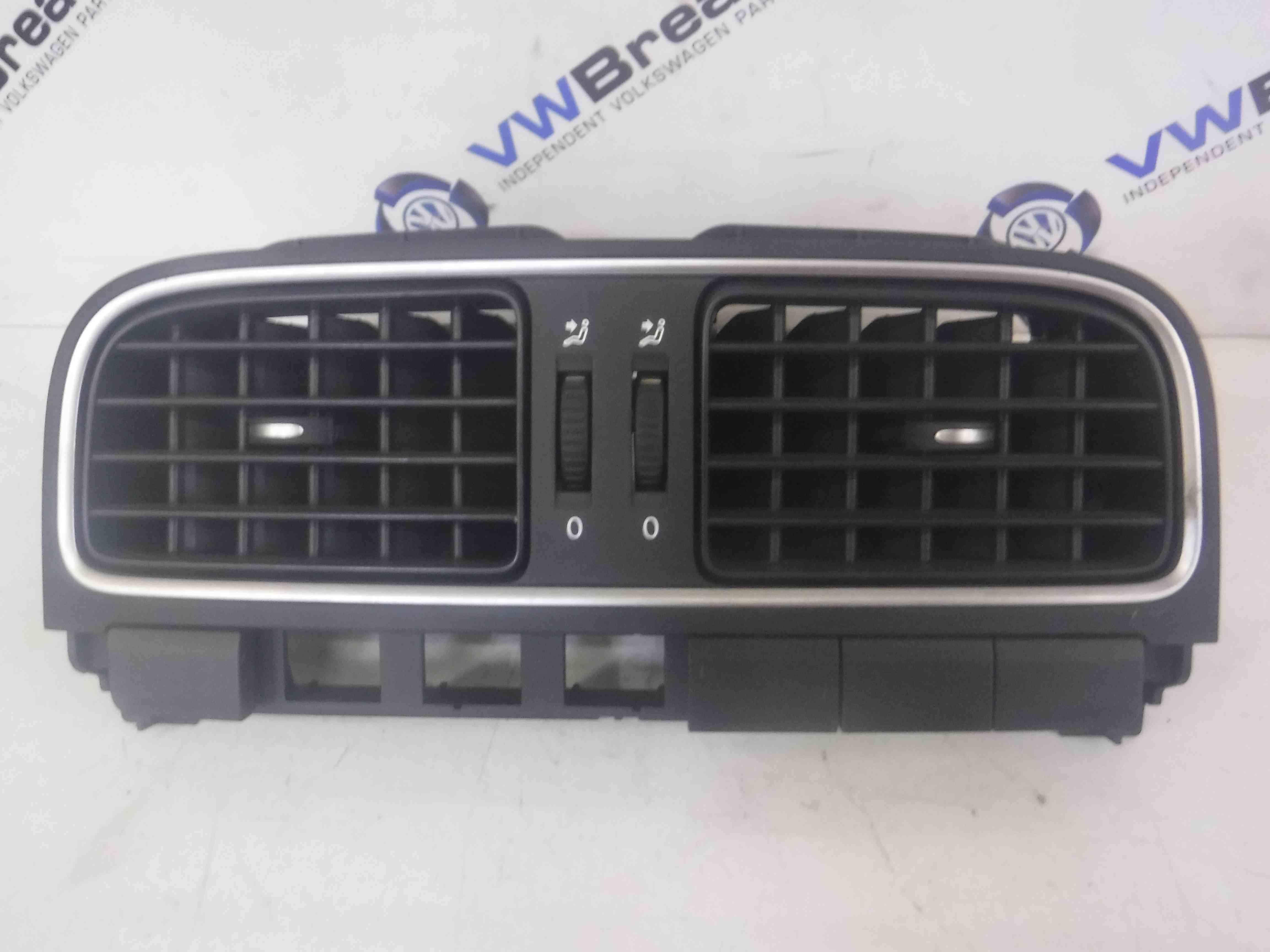 Volkswagen Polo 6R 2009-2014 Centre Heater Vent 6RF819728A
