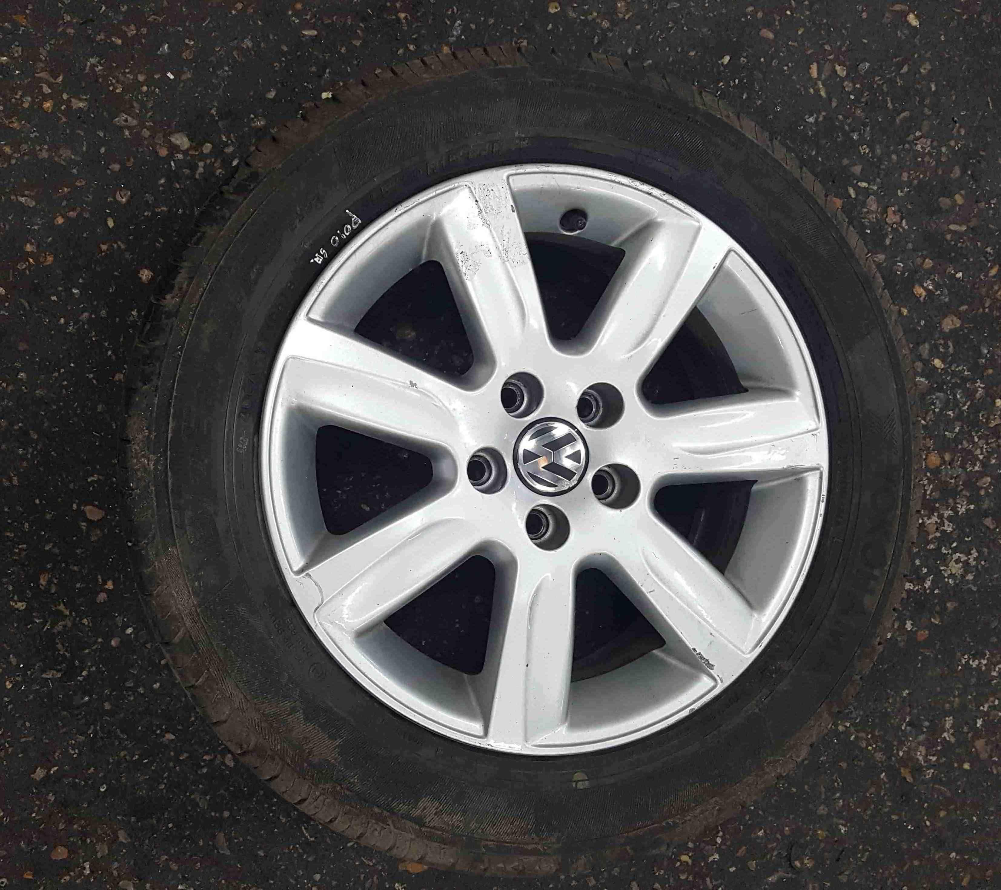 Volkswagen Polo 6R 2009-2014 Riverside Alloy Wheel 15inch x  3.5 6R0601025L