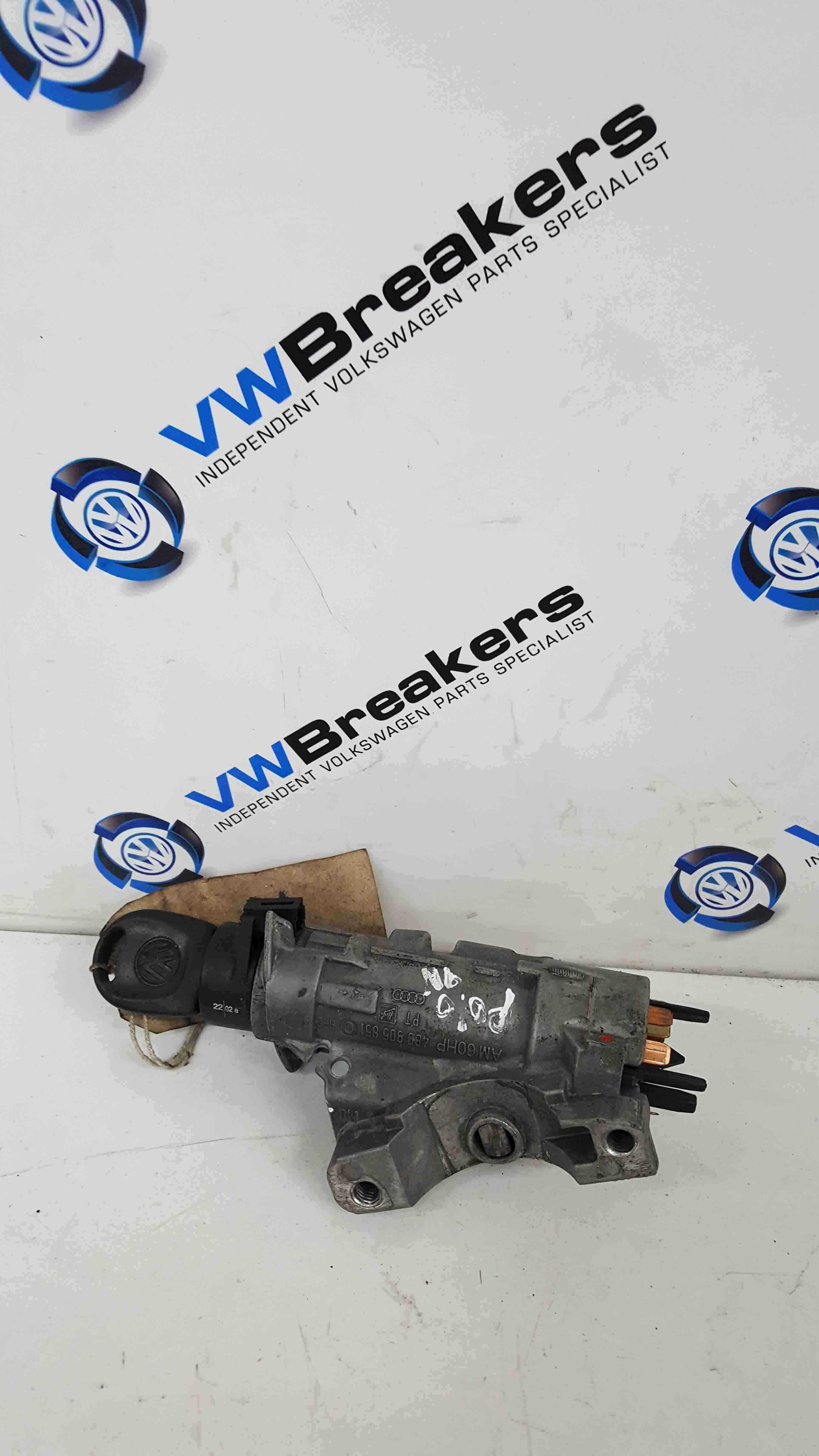 Volkswagen Polo 9N 2003-2006 Ignition Barrel + Key 4B0905851C