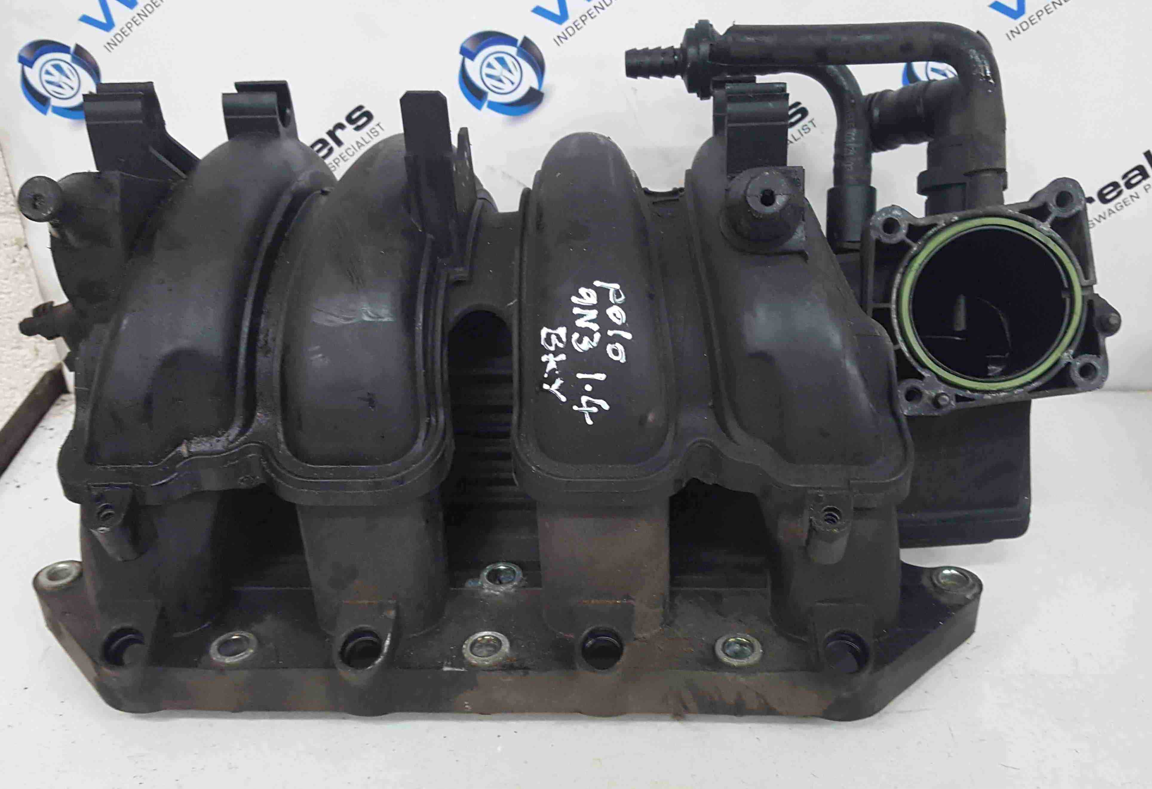 Volkswagen Polo 9N3 2006-2008 1.4 16v Inlet Manifold Mani BKY 036129711R