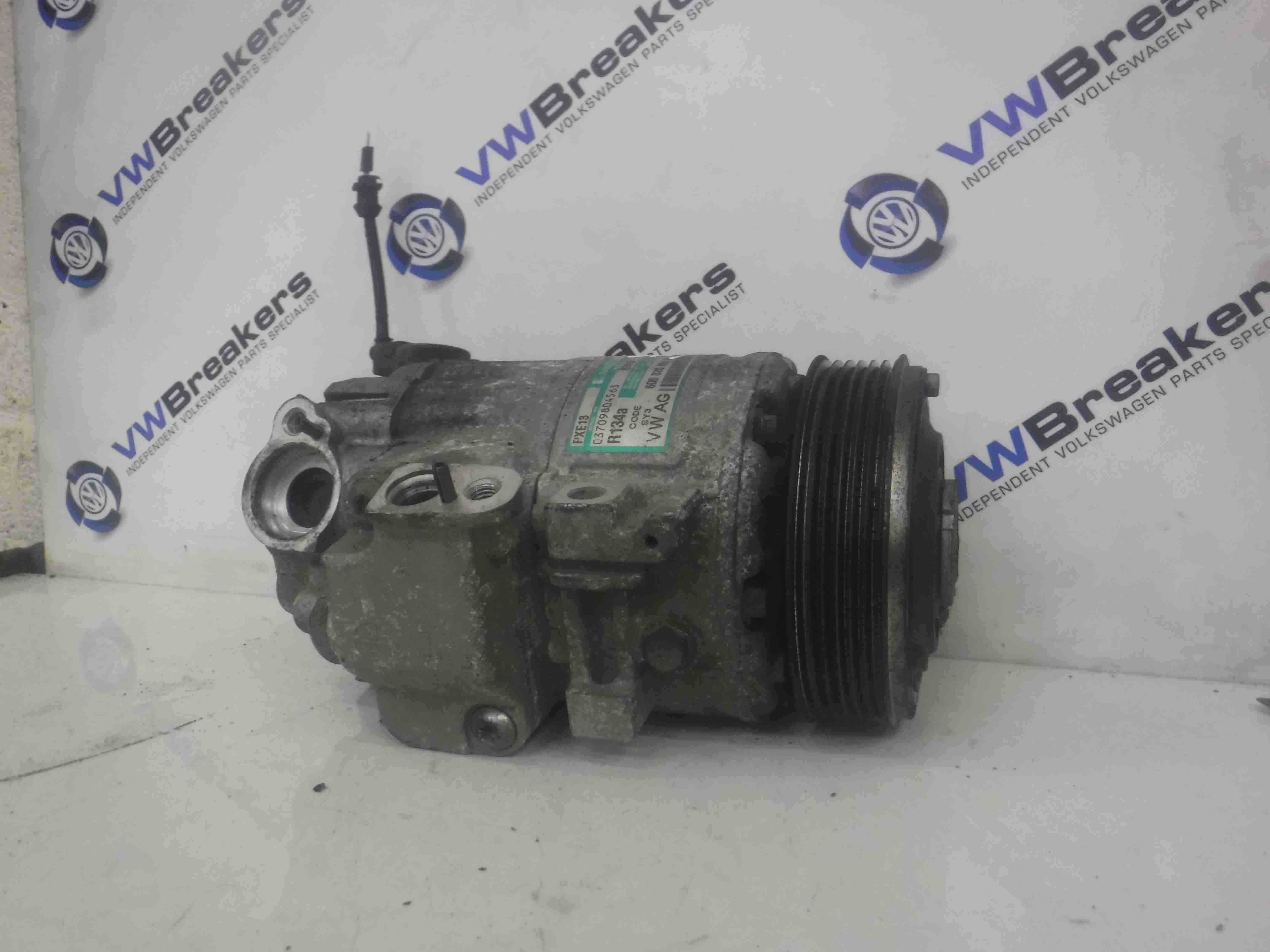 Volkswagen Polo 9N3 2006-2008 Aircon Pump Compressor Unit 6q0820803R