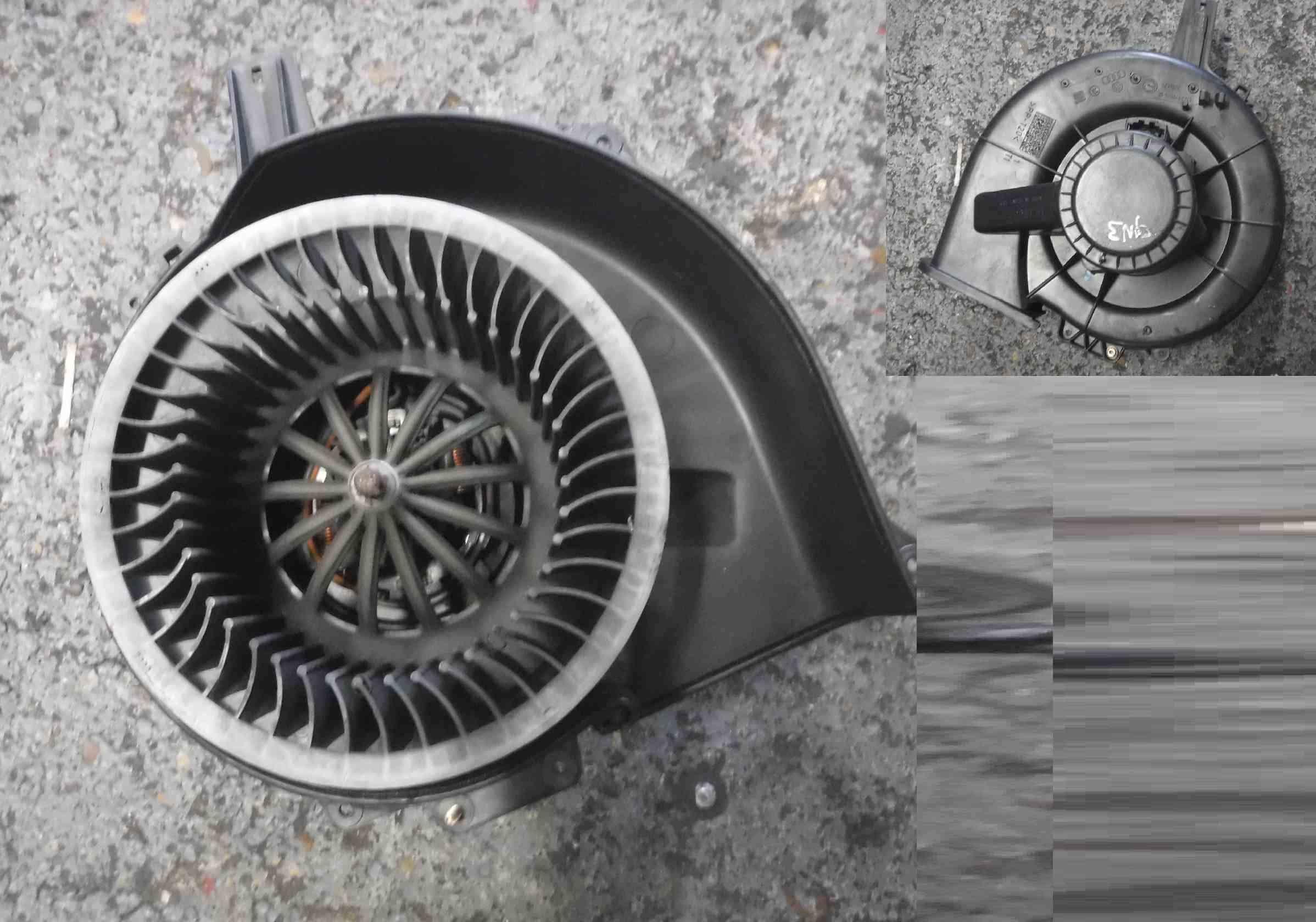 Volkswagen Polo 9N3 2006-2008 Heater Blower Motor Fan 6Q2819015G