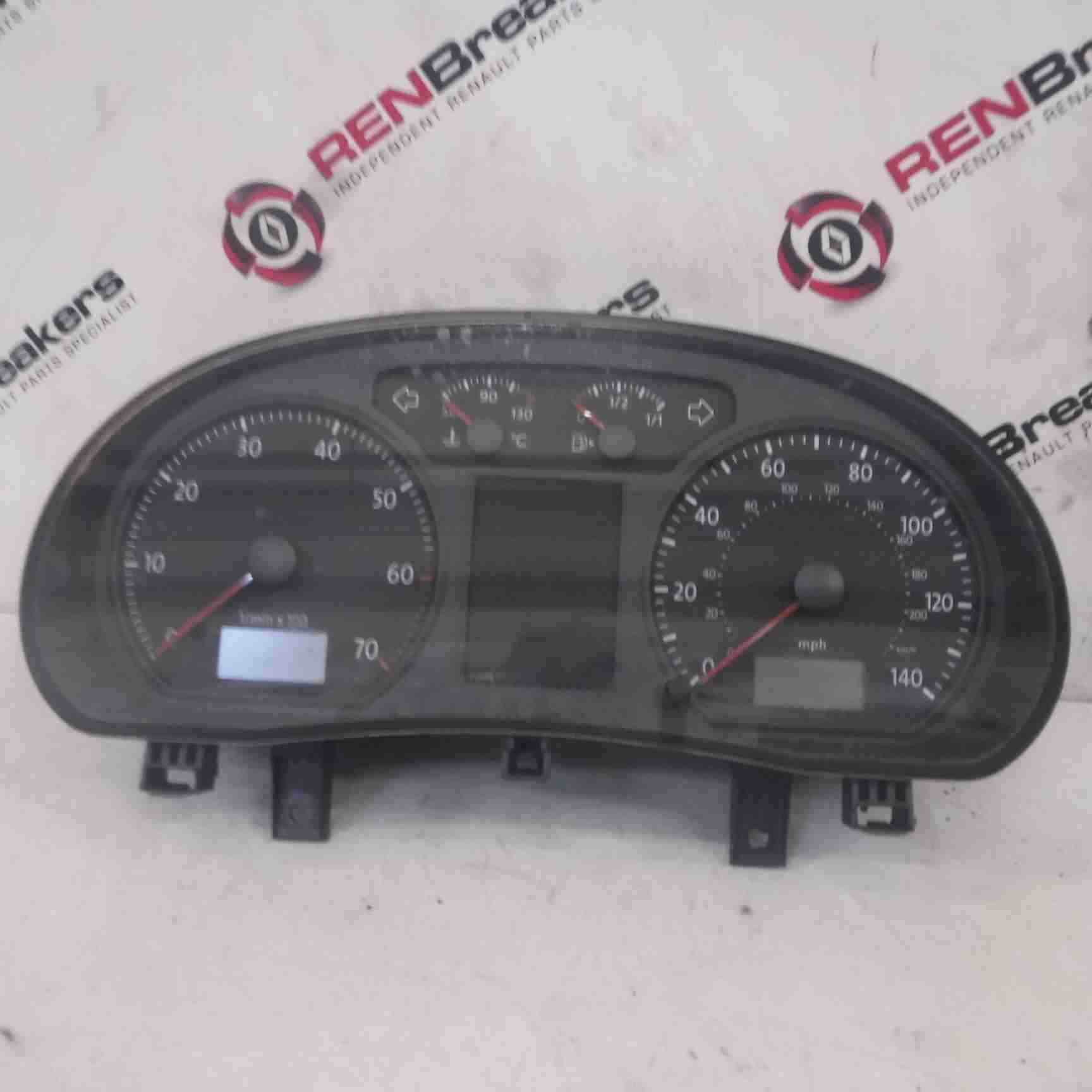 Volkswagen Polo 9N3 2006-2008 Instrument Panel Dials Cluster Clocks 6Q0920903