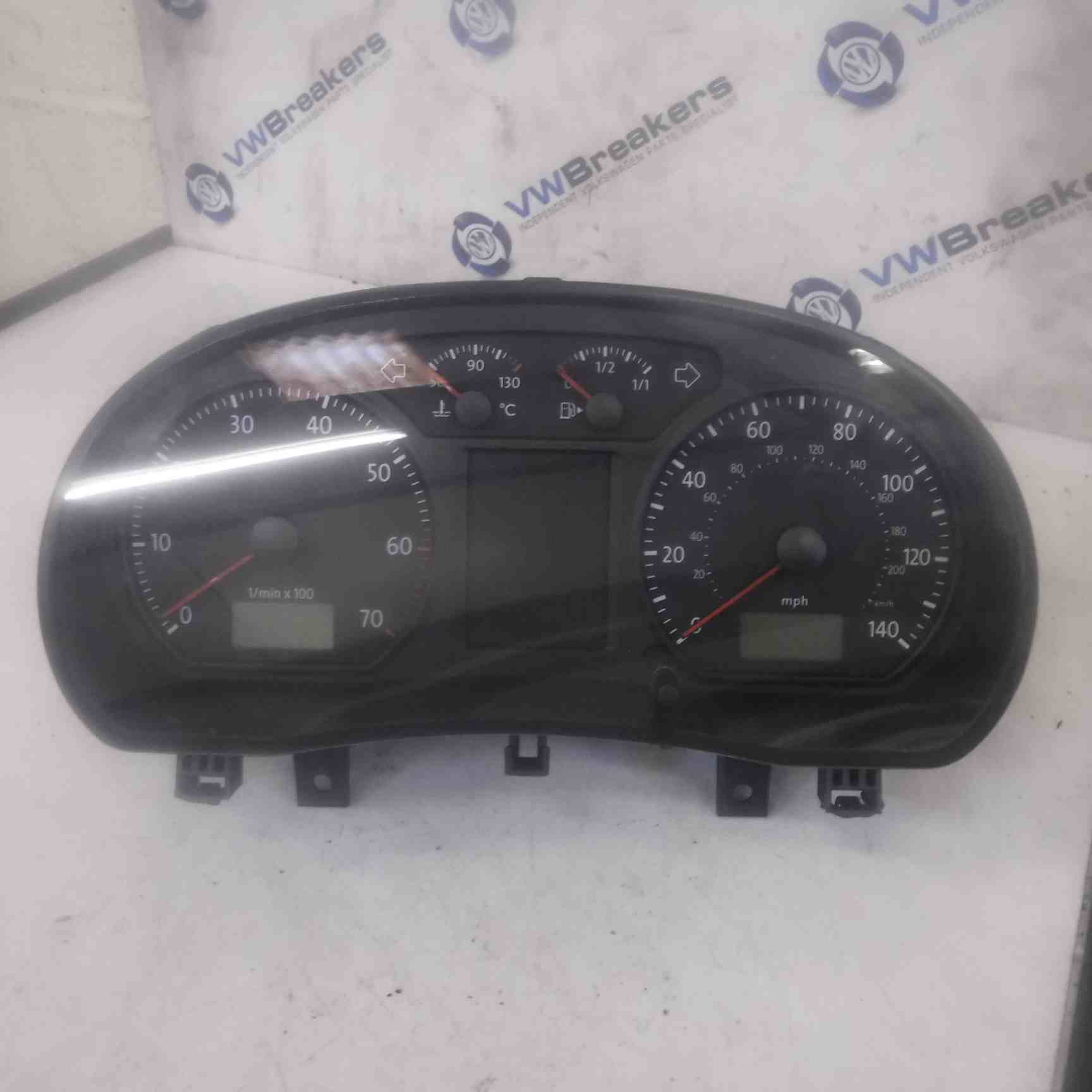 Volkswagen Polo 9N3 2006-2008 Instrument Panel Dials Cluster Clocks108K