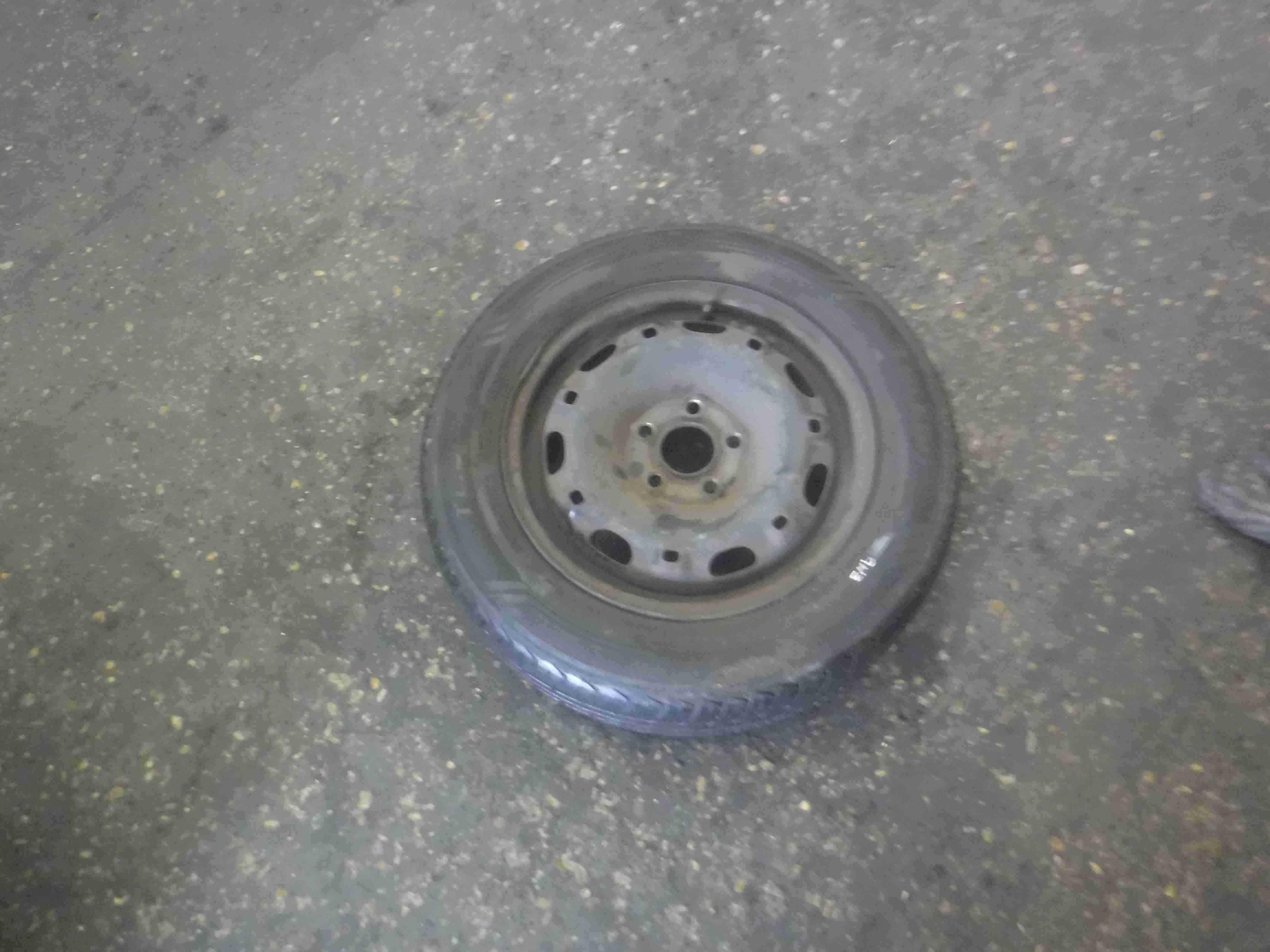 Volkswagen Polo 9N3 2006-2008 Spare Steel Wheel + Tyre 6mm Tread 165 70 14 3/5