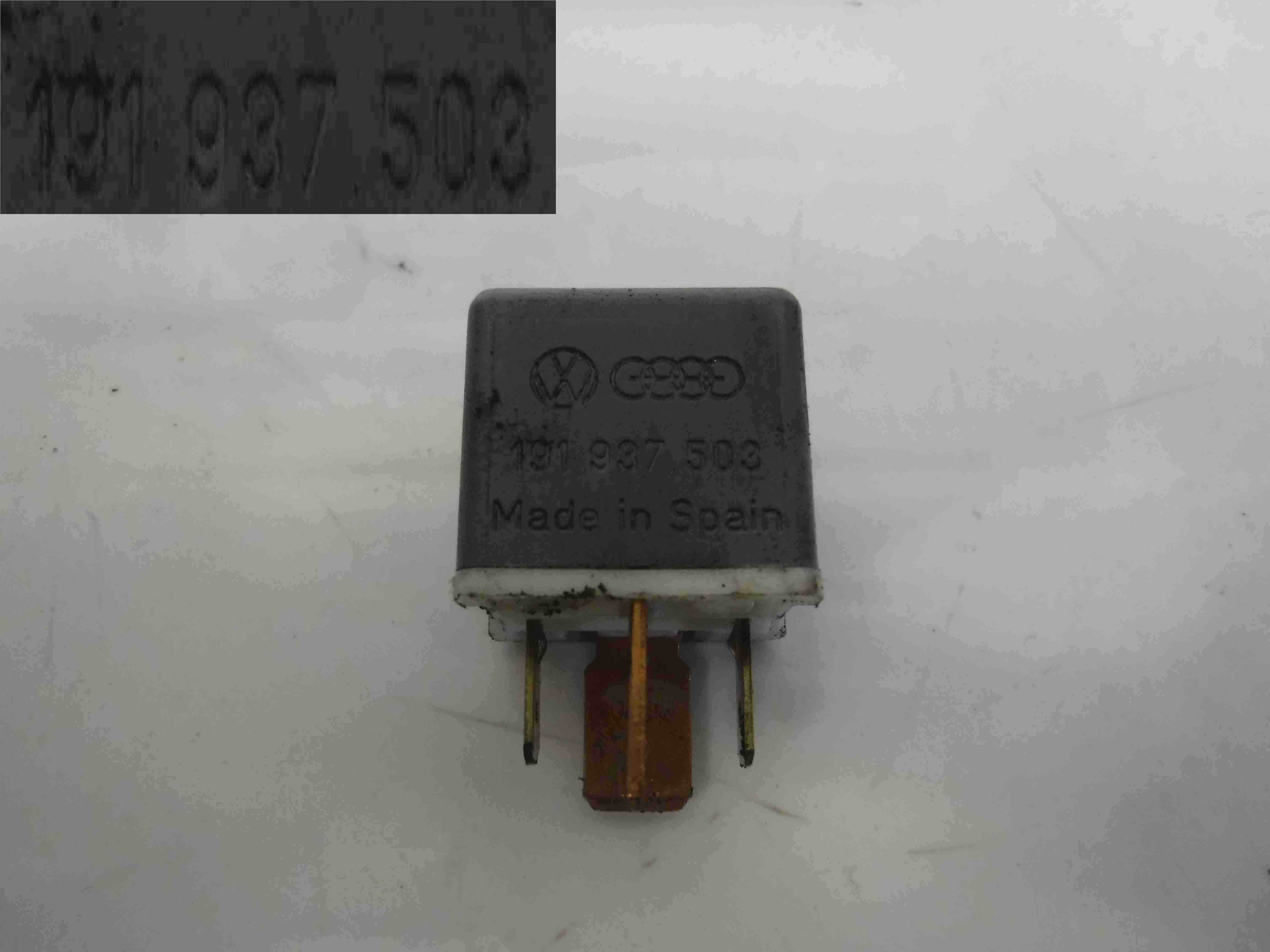 Volkswagen Polo Golf Passat Relay Fuel Fuse 191937503