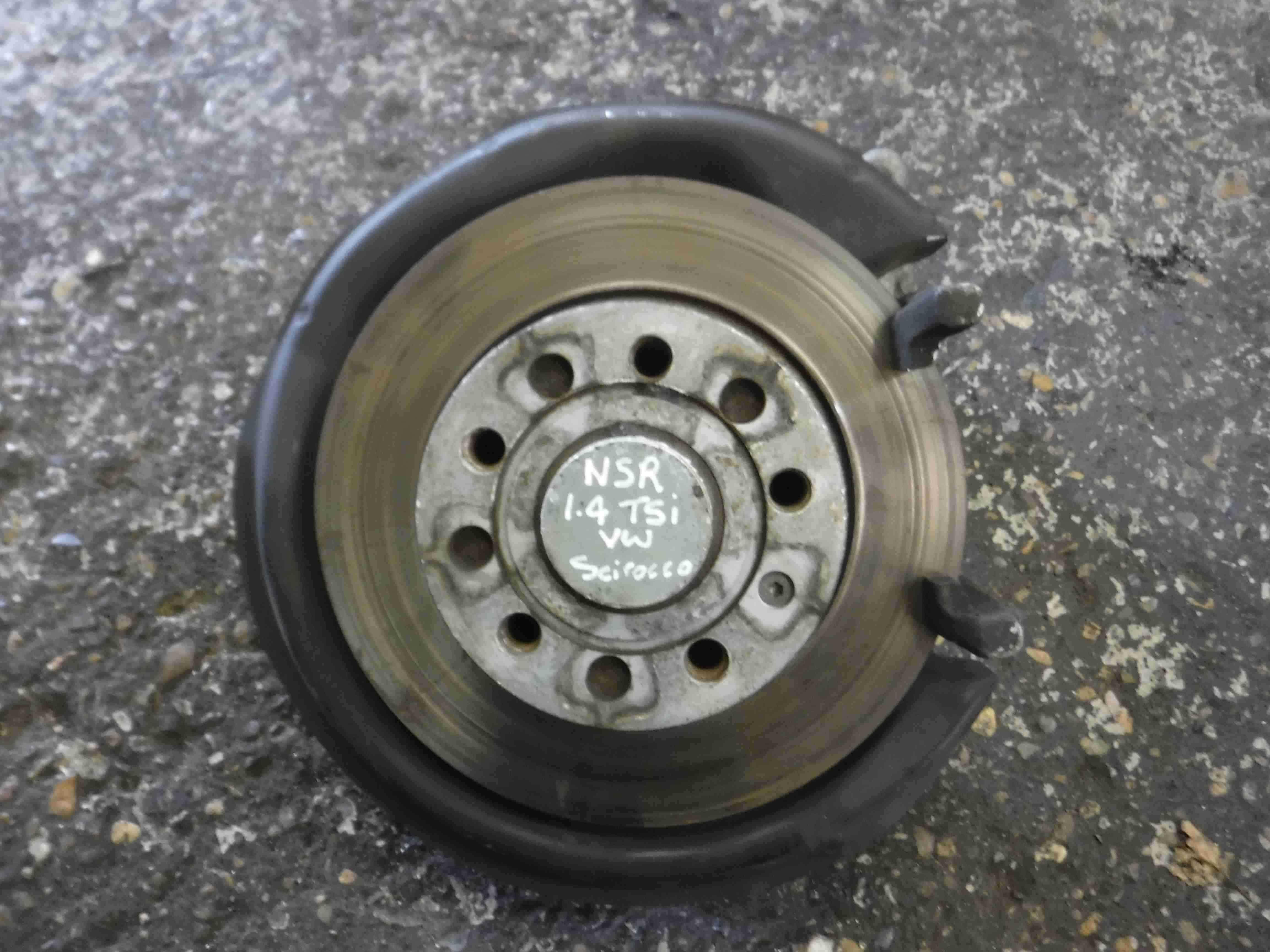 Volkswagen Scirocco 2008-2014  1.4 TSI Passenger NSR Rear Hub Disc Stub Axle