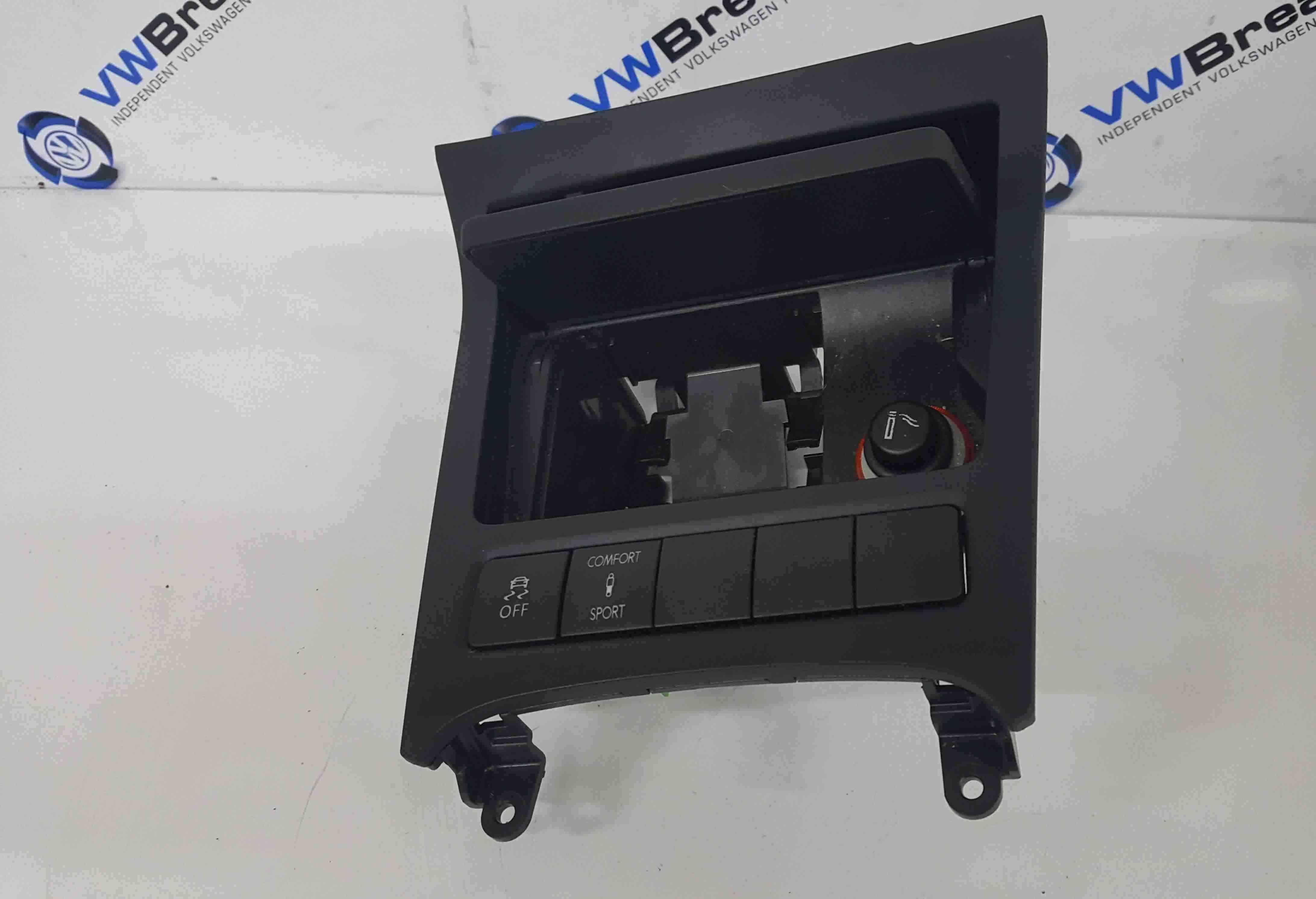 Volkswagen Scirocco 2008-2014 Ashtray Socket Compartment Comfort Sport Button