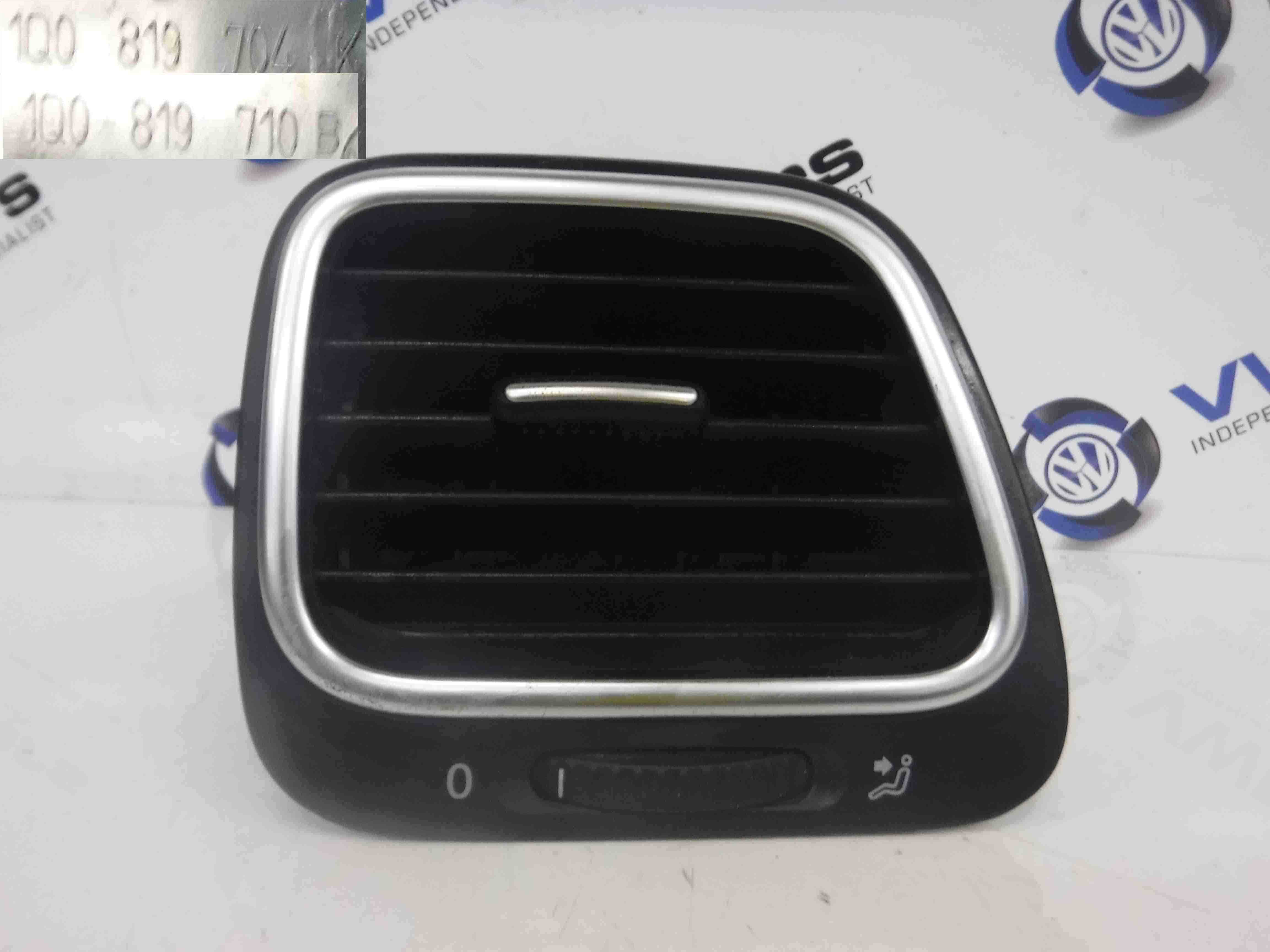 Volkswagen Scirocco 2008-2016 Drivers OSF Front Dashboard Heater Blower Air Vent