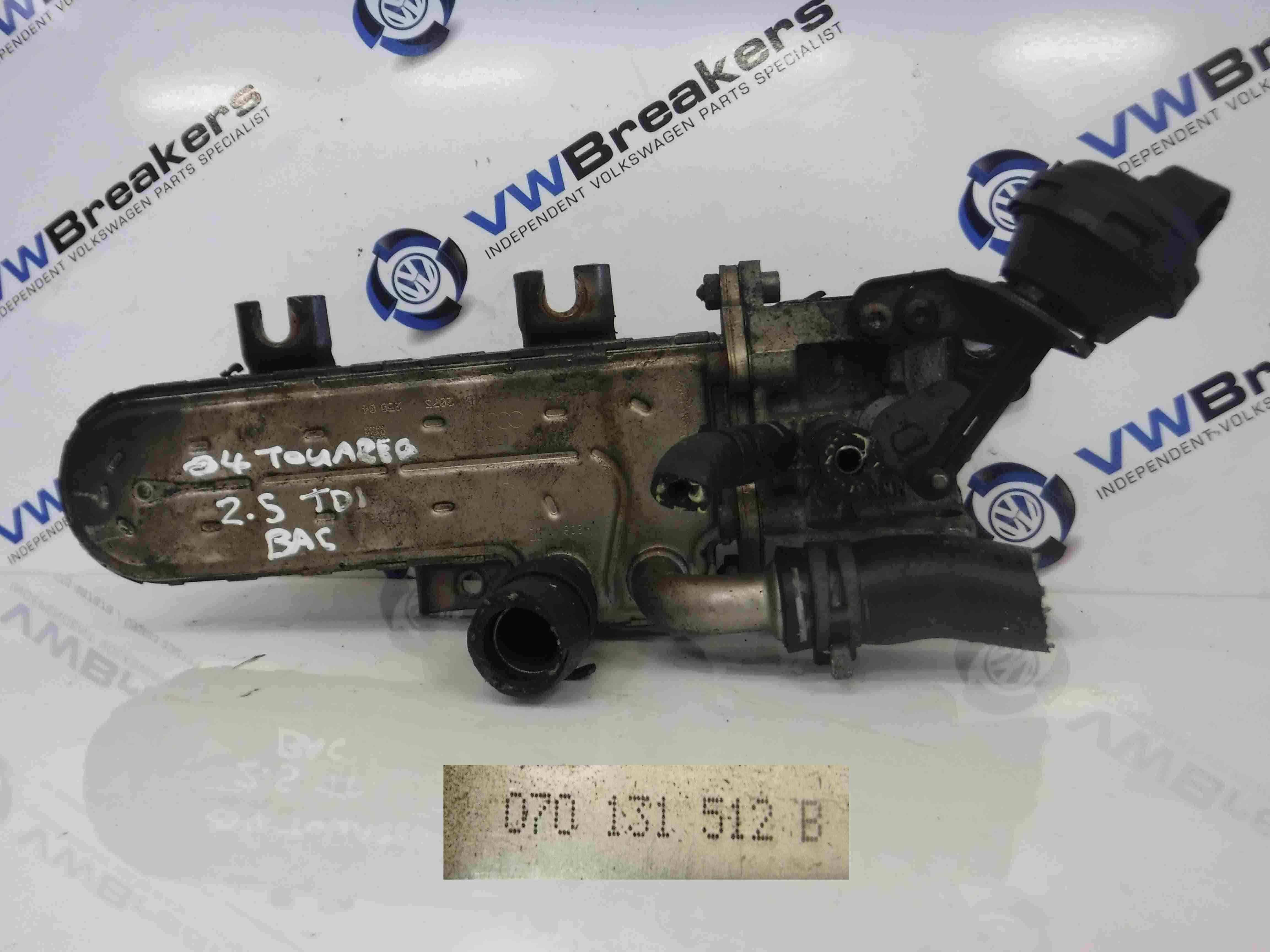 Volkswagen Touareg 2002-2007 2.5 TDI EGR Valve Cooler 070131512B