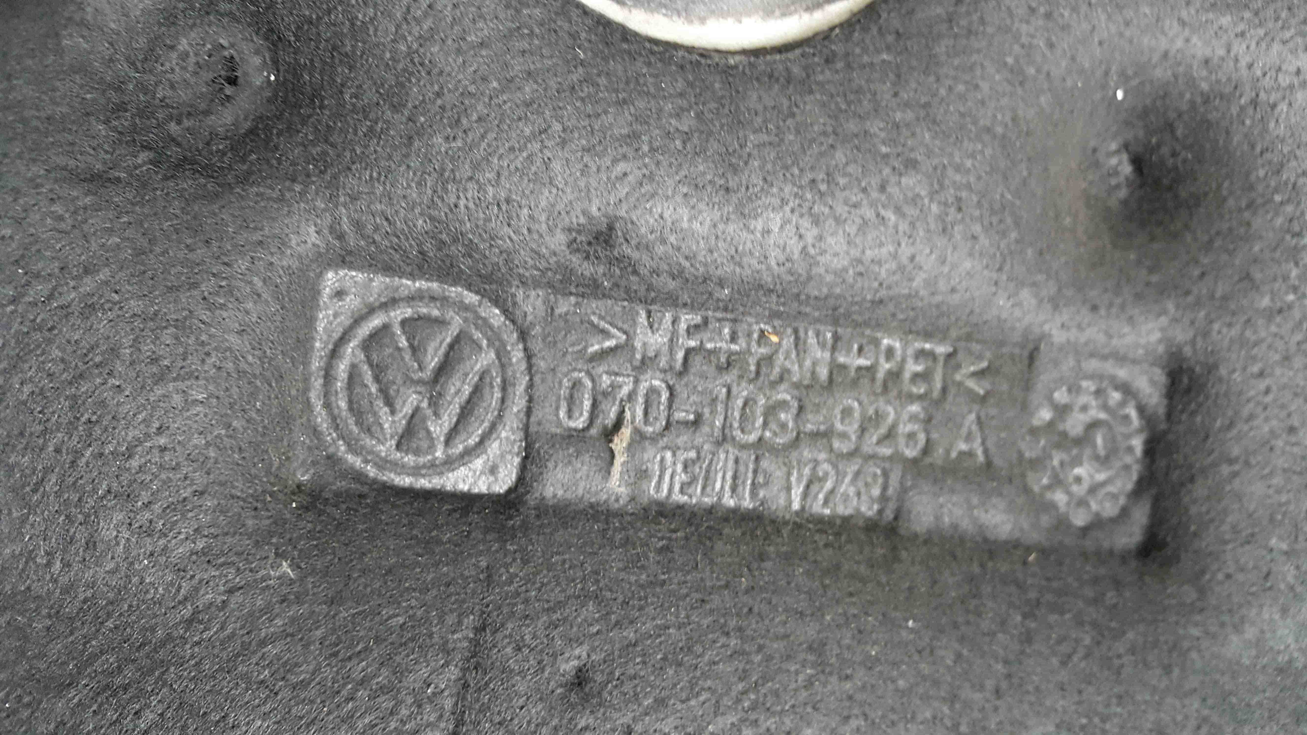 Volkswagen Touareg 2002-2007 2.5 TDi Engine Cover Plastic 070103926A
