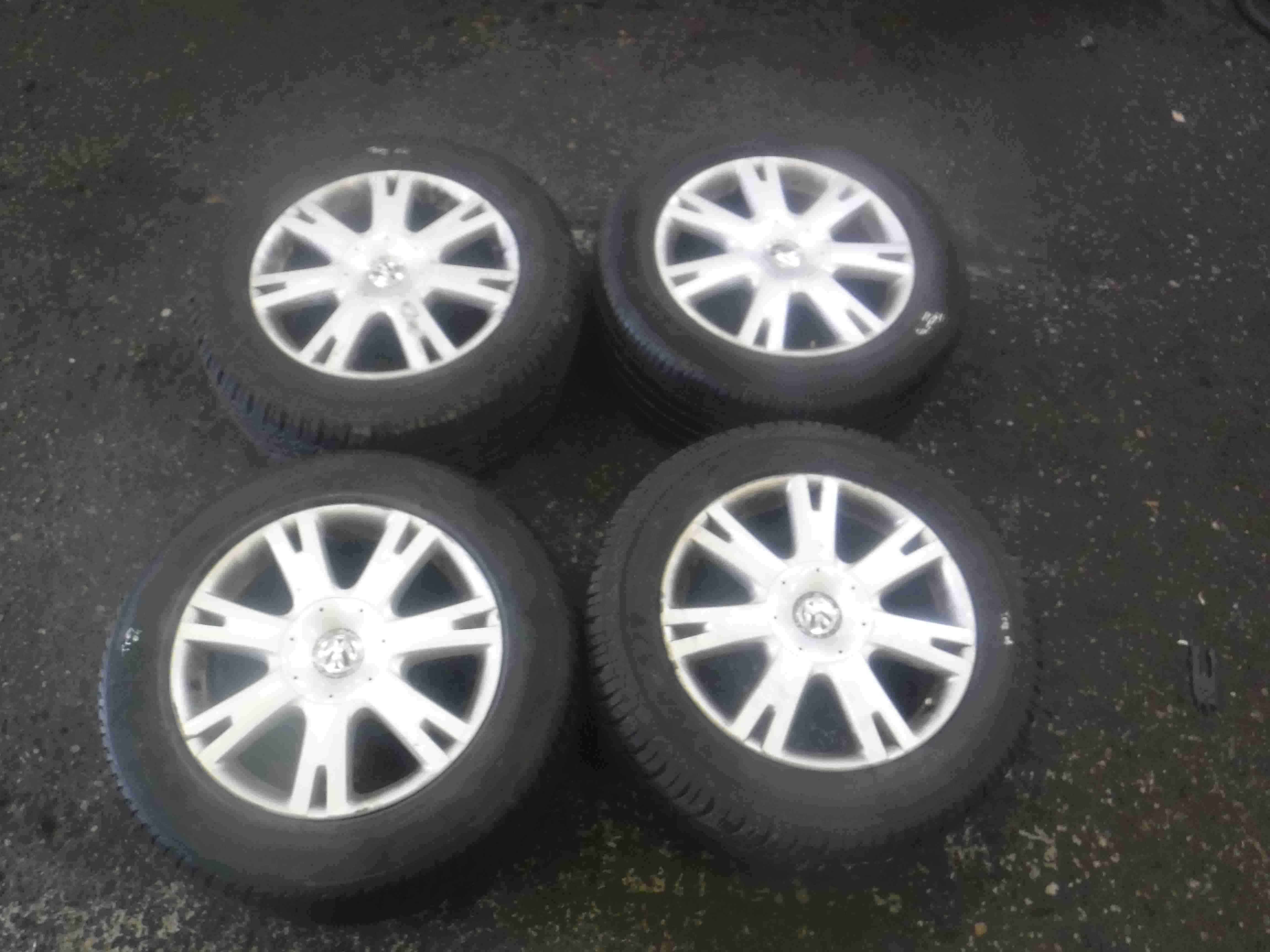 Volkswagen Touareg 2002-2007 Alloy Wheels Set X4 + Tyre 255 55 18 18inch 3/5