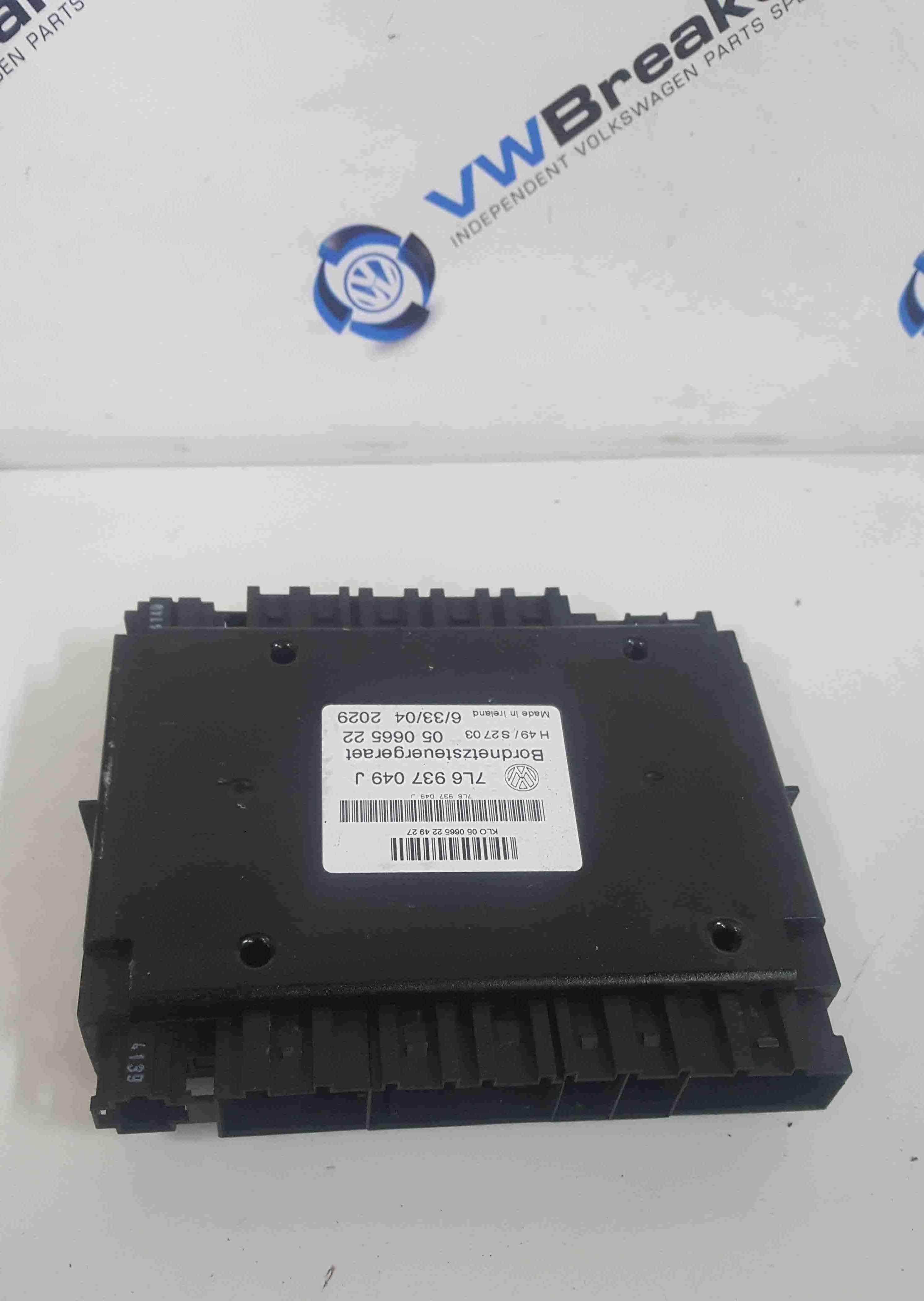 Volkswagen Touareg 2002-2007 Comfort Control Module 7L6937049M 7L6937049J