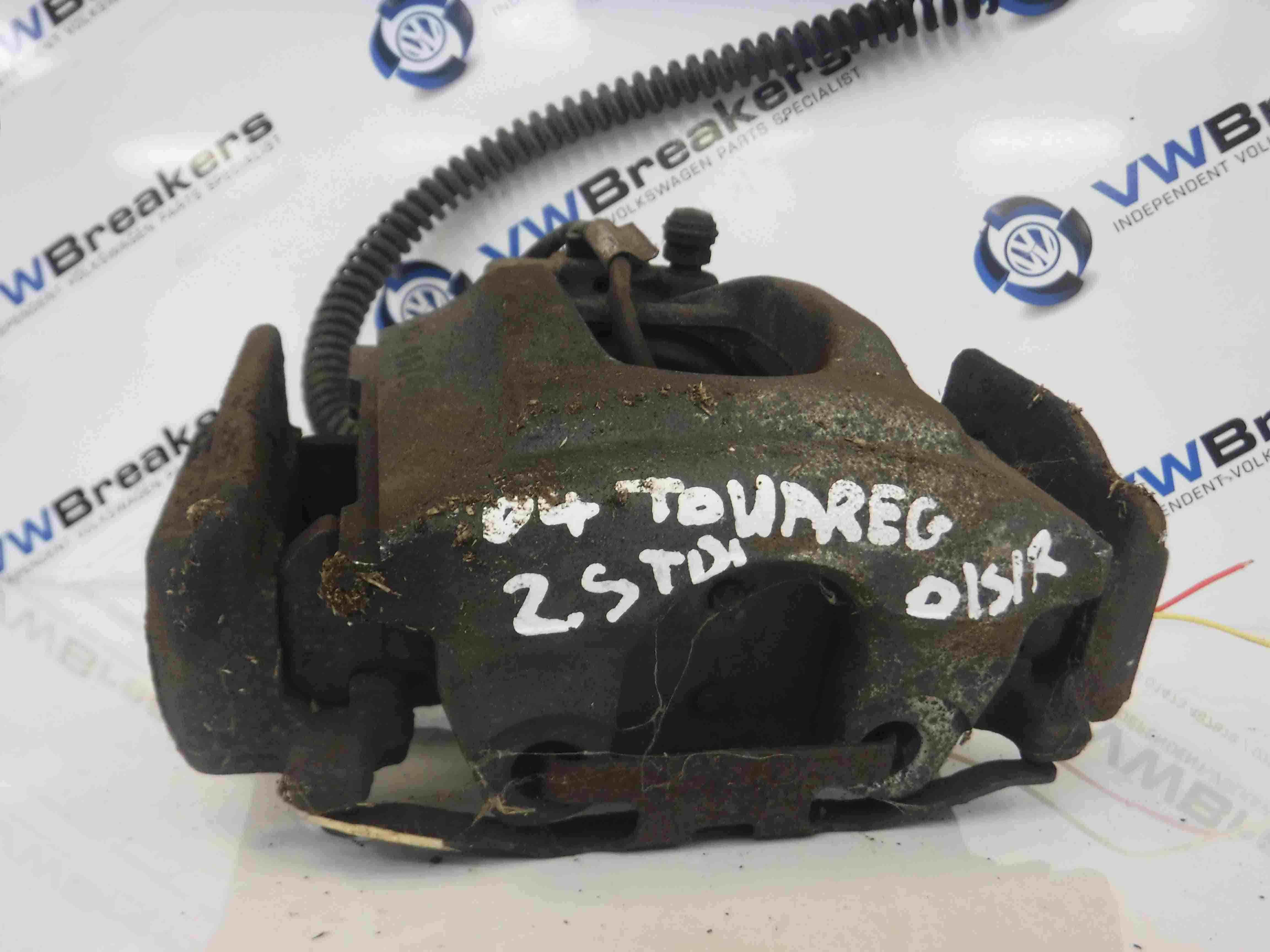 Volkswagen Touareg 2002-2007 Drivers OSR Rear Brake Caliper